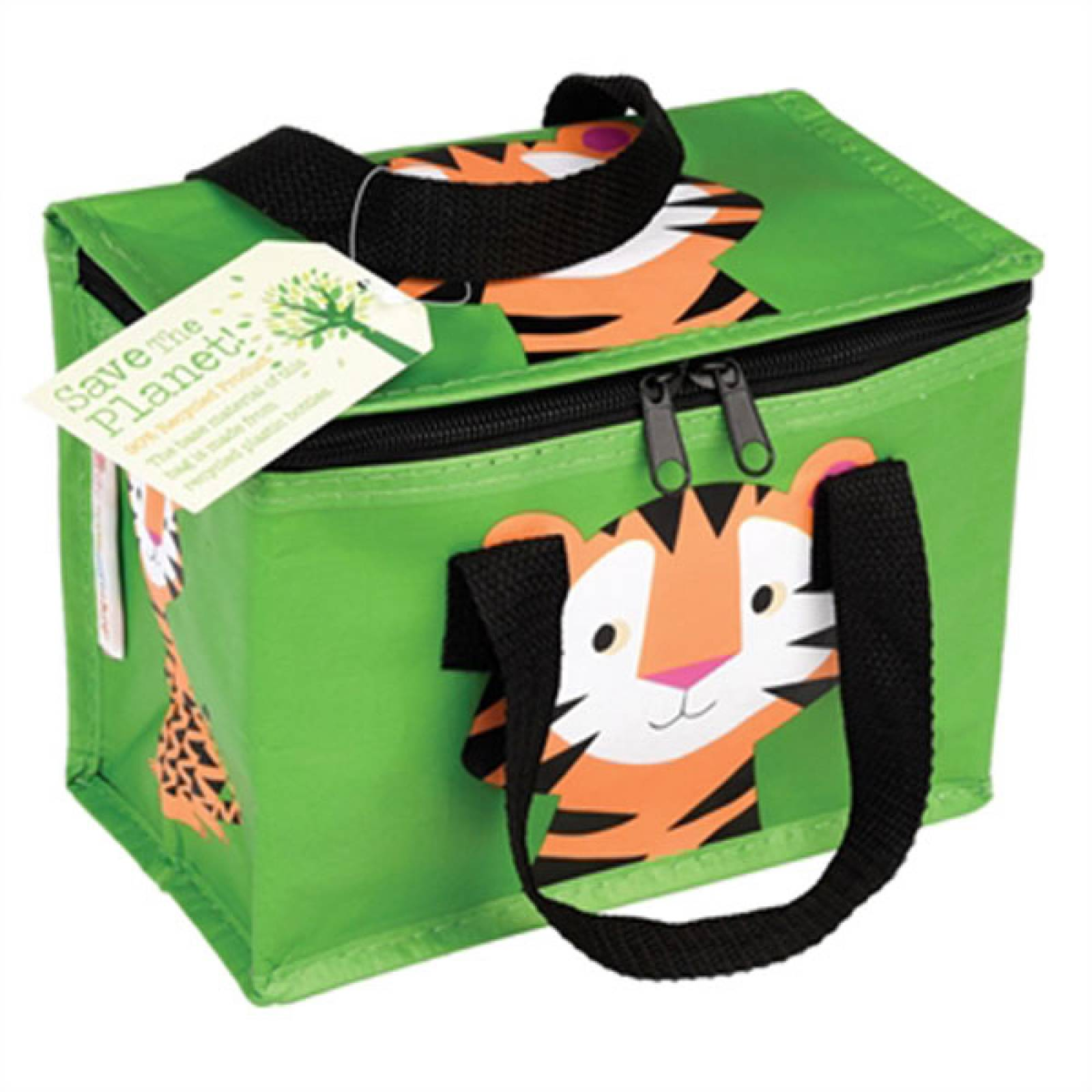Tiger Insulated Lunch Bag