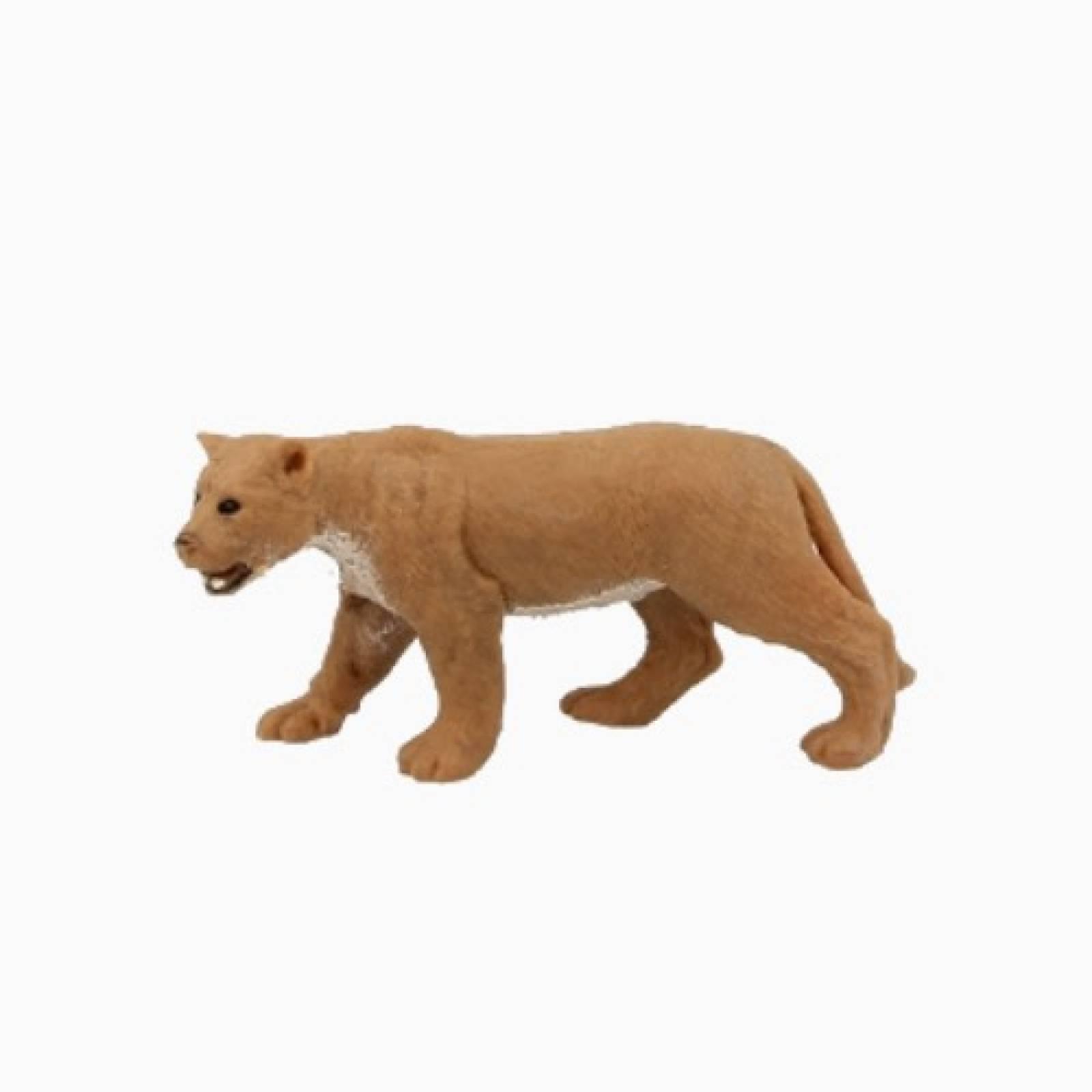 Lioness Stretchy Beanie Animal Toy 3+