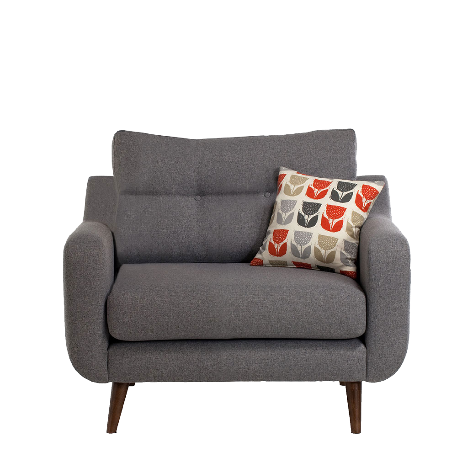Lisbon Armchair By Whitemeadow - Fabric Grade A