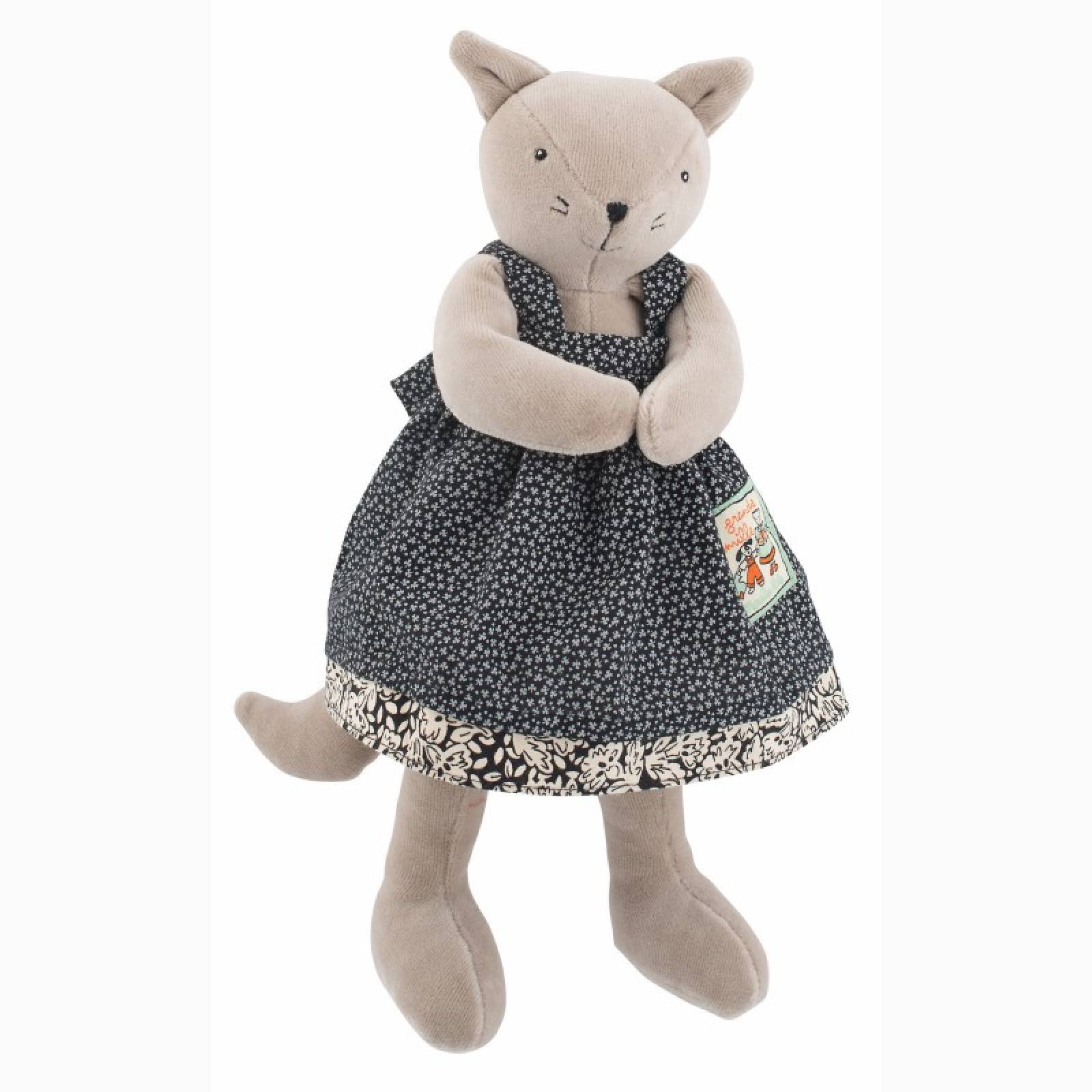 Little Agathe The Cat Soft Toy 0+
