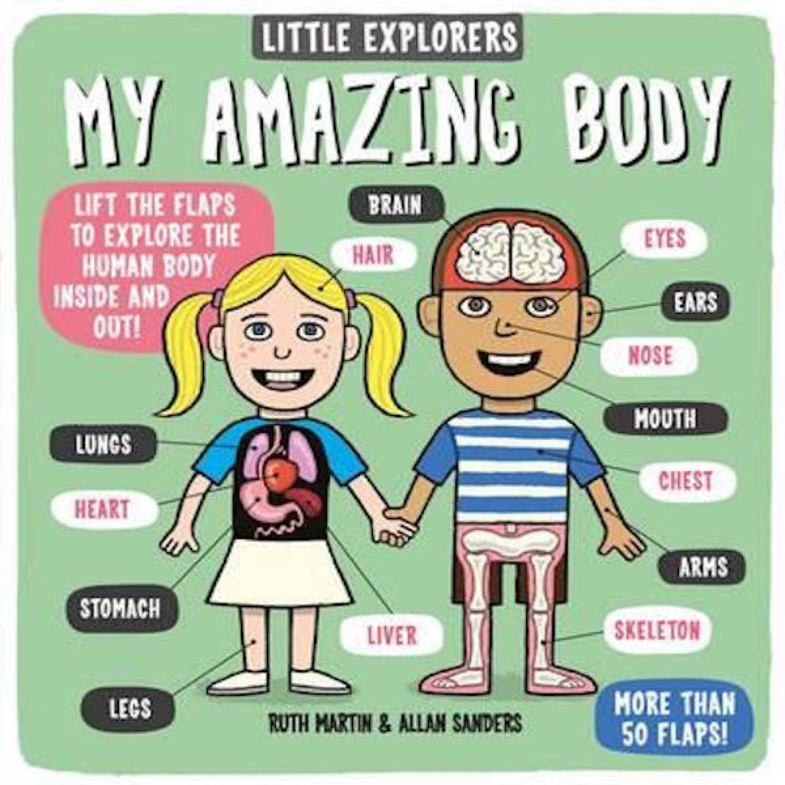 Little Explorers My Amazing Body Lift The Flap Hardback Book