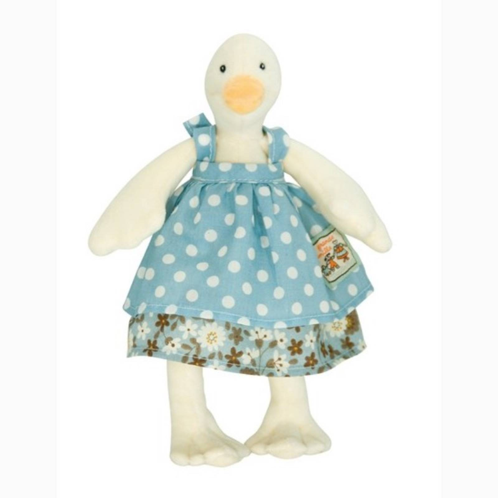 Little Jeanne The Duck Soft Toy 0+