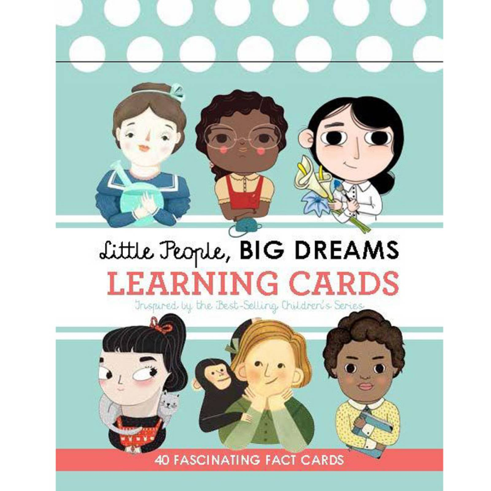 Little People, Big Dreams: Learnng Cards