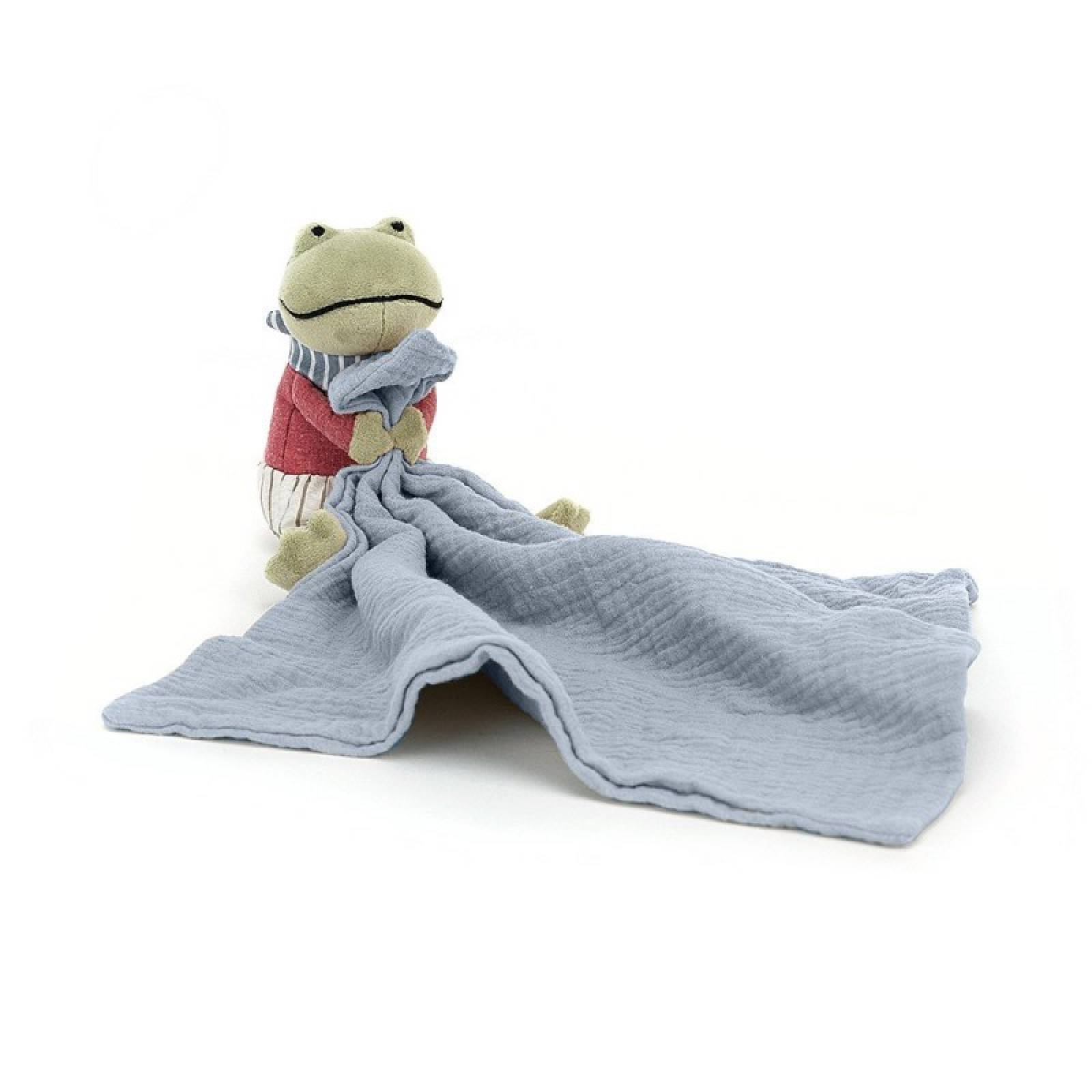 Little Rambler Frog Soother Toy By Jellycat