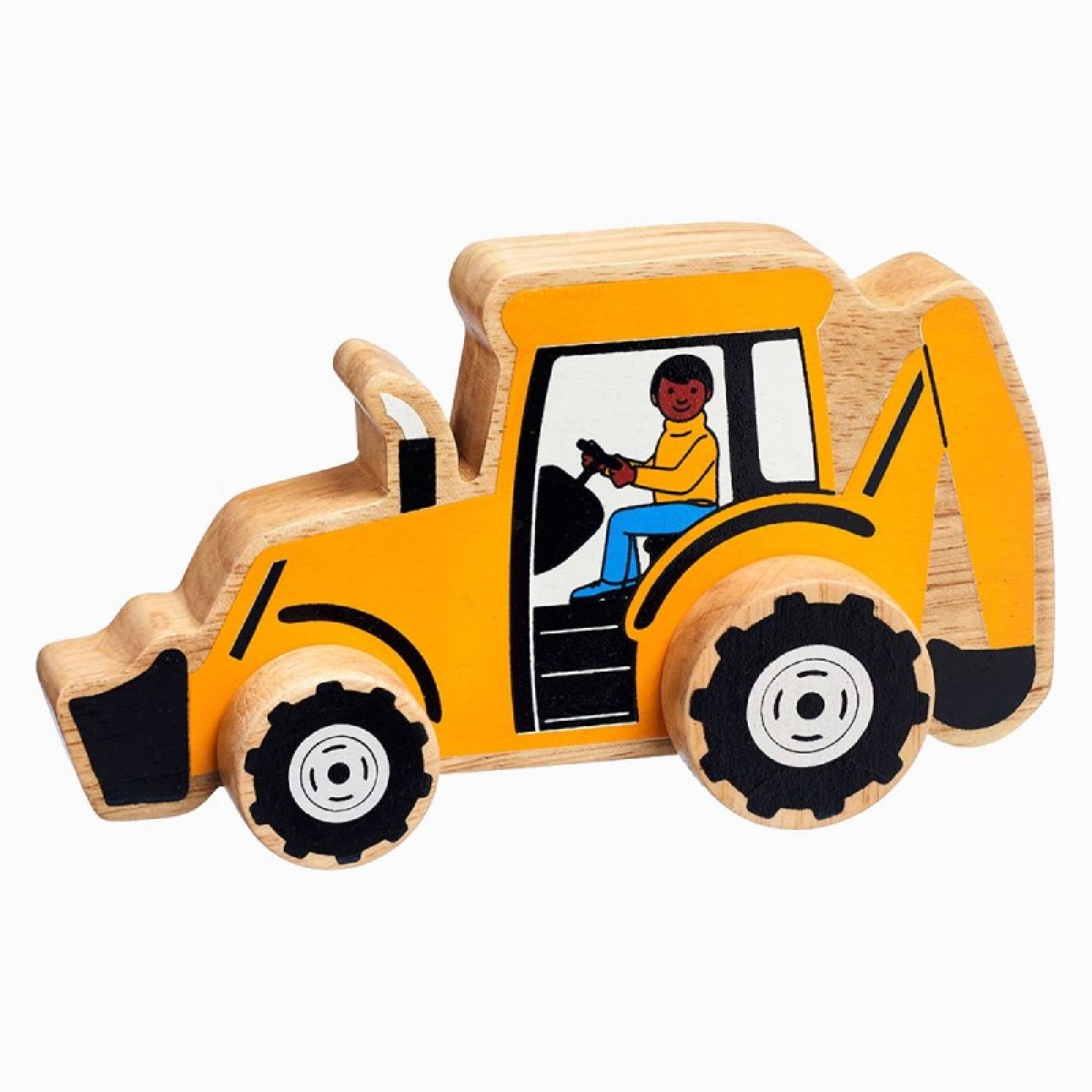 Little Wooden Digger Made From Natural Wood By Lanka Kade