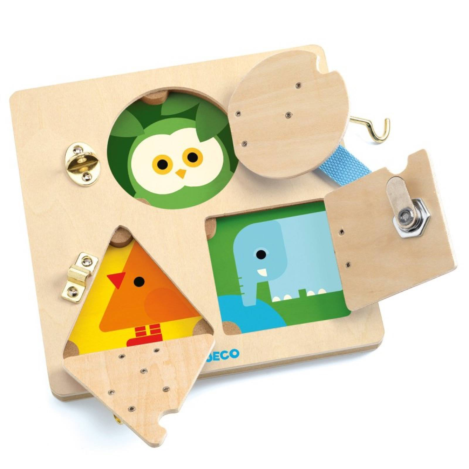 LockBasic Wooden Puzzle By Djeco 3+