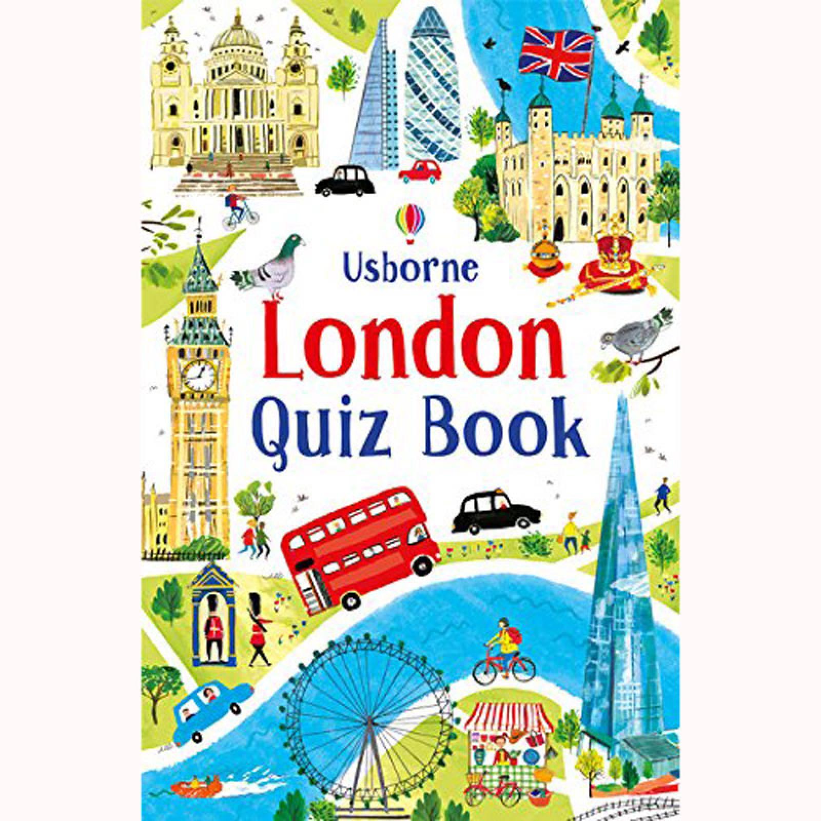 London Quiz Book - Paperback Book