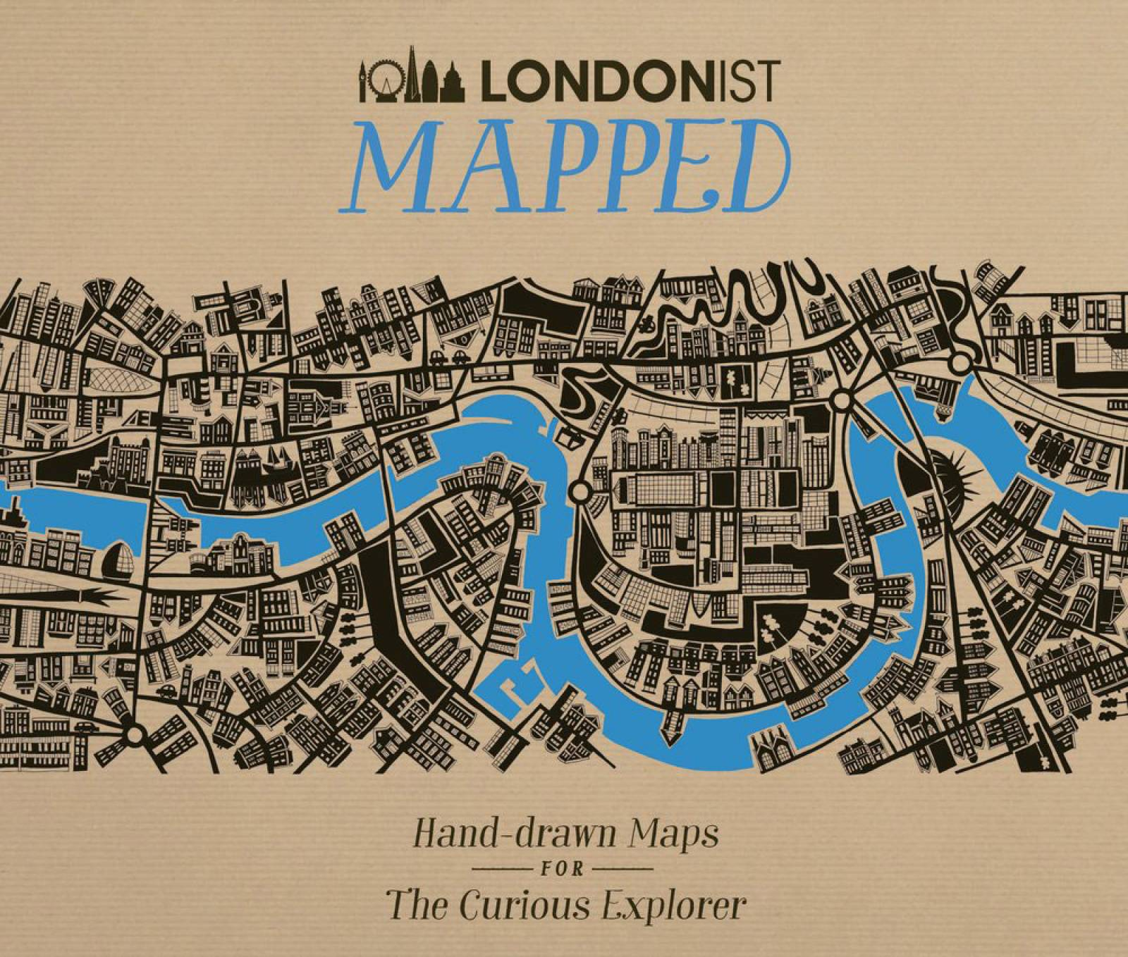 Londonist Mapped - Hardback Book