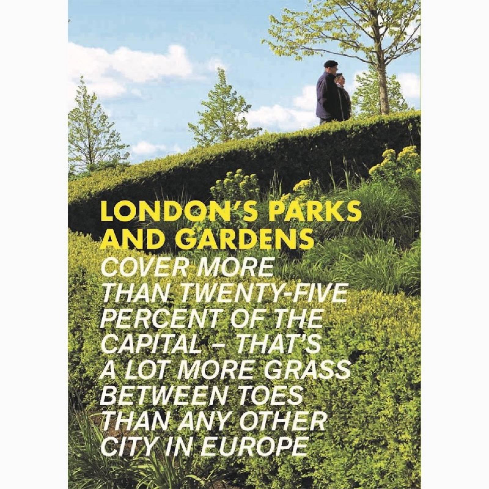 London's Parks & Gardens - Paperback Book