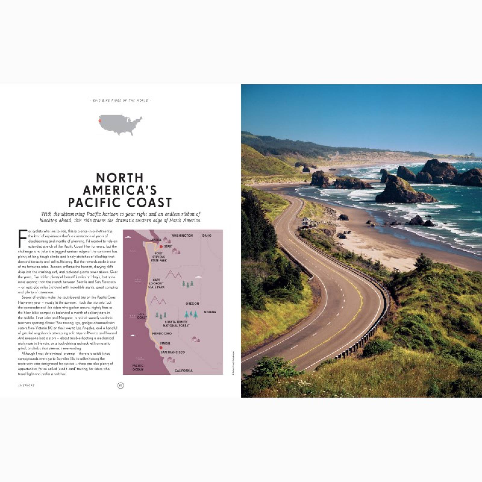 Lonely Planet Epic Bike Rides Of The World - Hardback Book thumbnails
