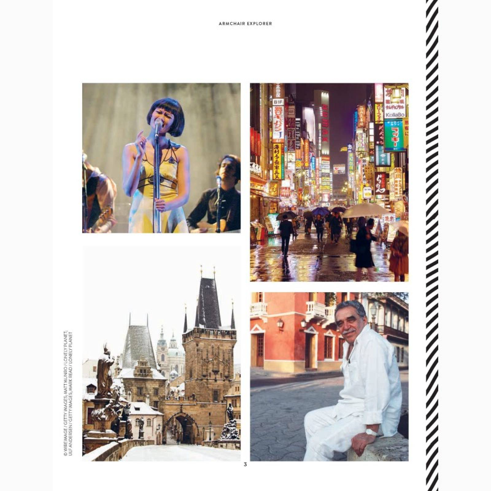 Lonely Planet's Armchair Explorer - Hardback Book thumbnails