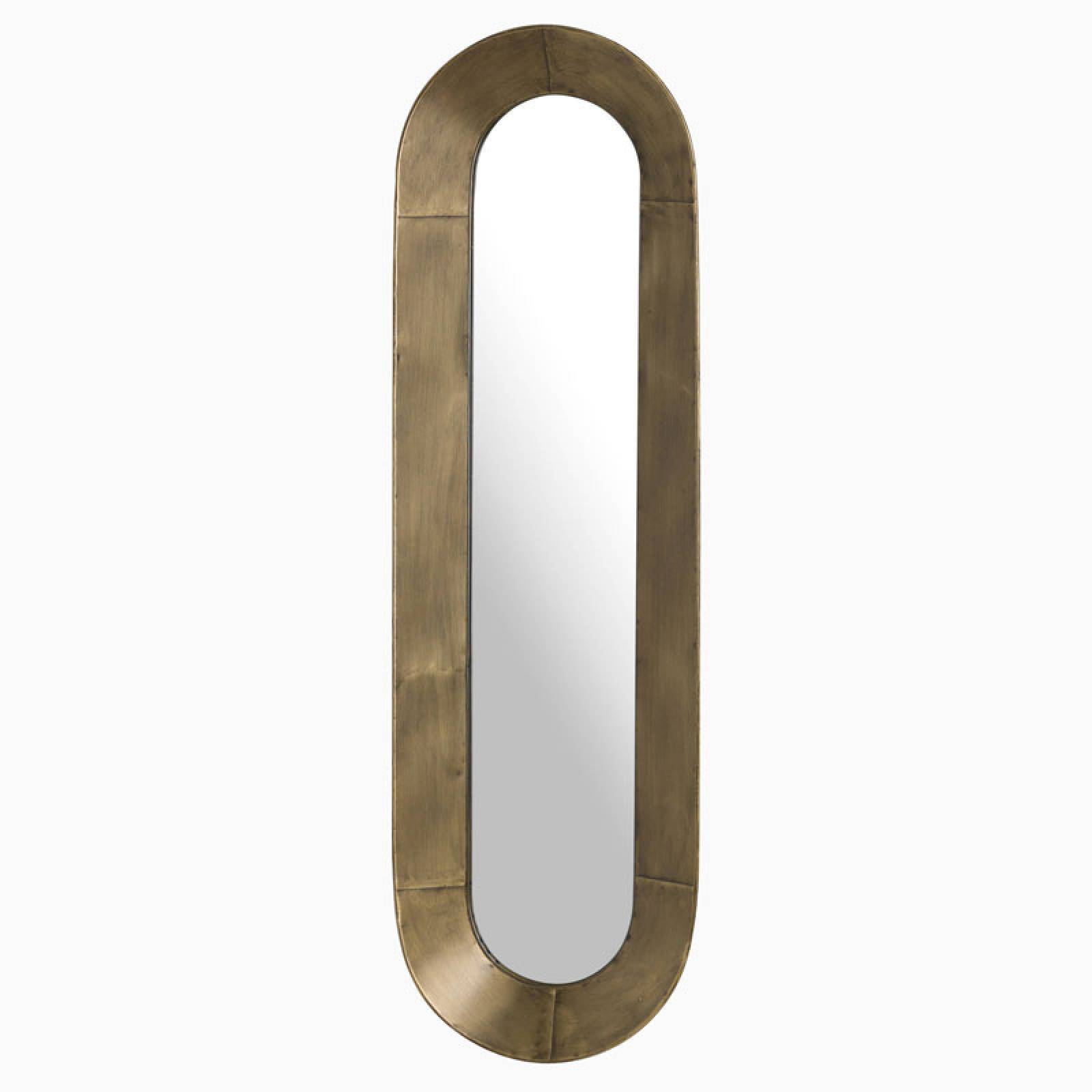Long Curved Bronzed Mirror thumbnails