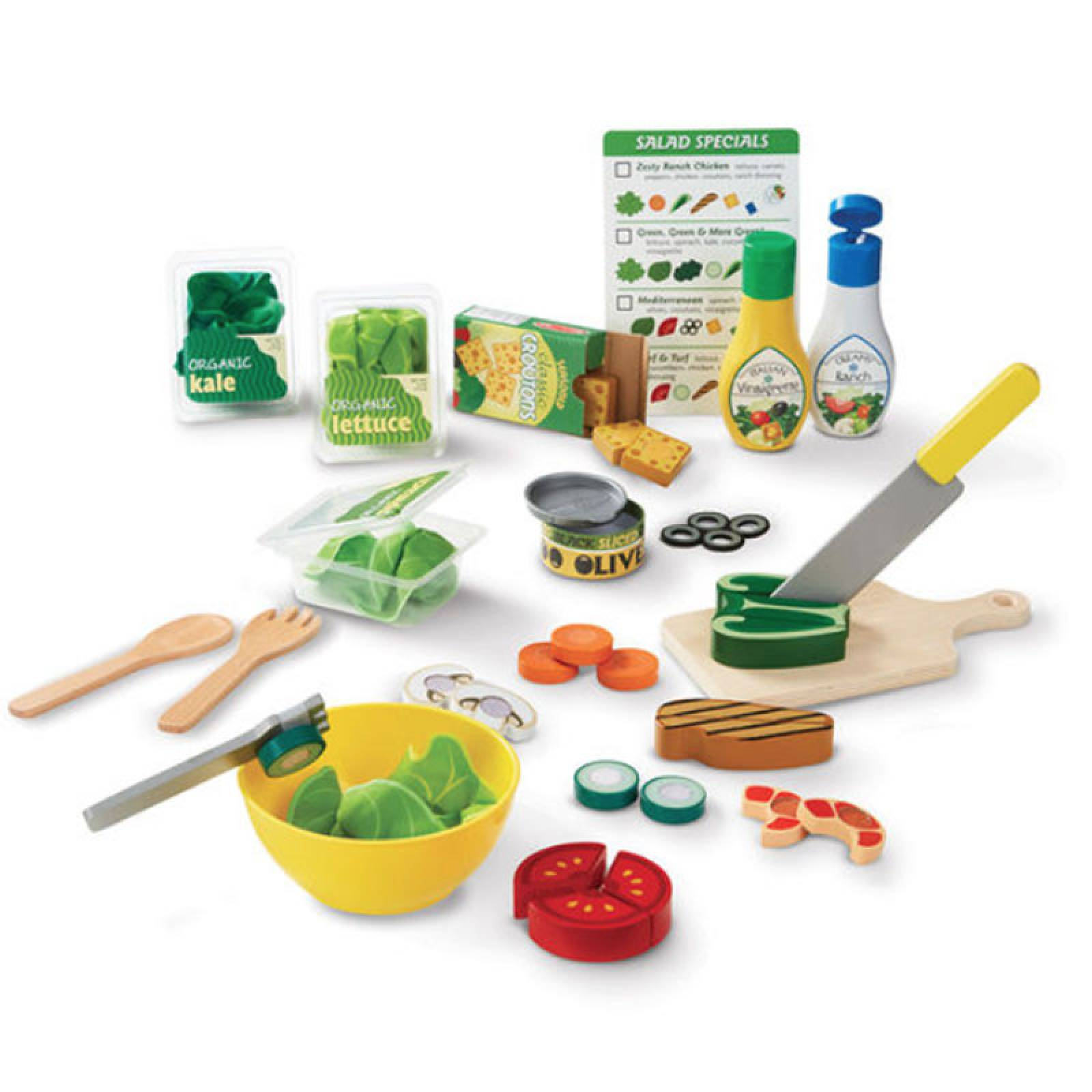 Salad Set Slice And Toss Melissa & Doug thumbnails