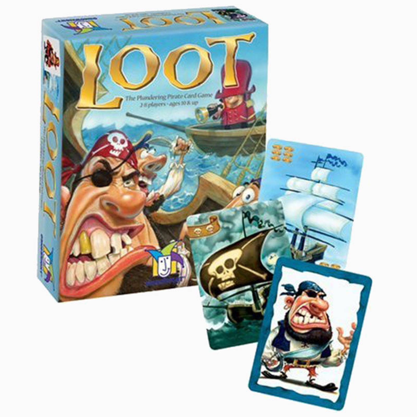 Loot - The Plundering Pirate Card Game 10+