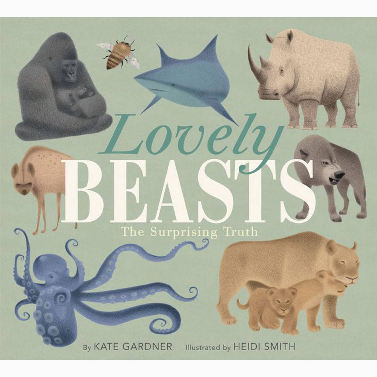 Lovely Beasts: The Surprising Truth - Hardback Book thumbnails
