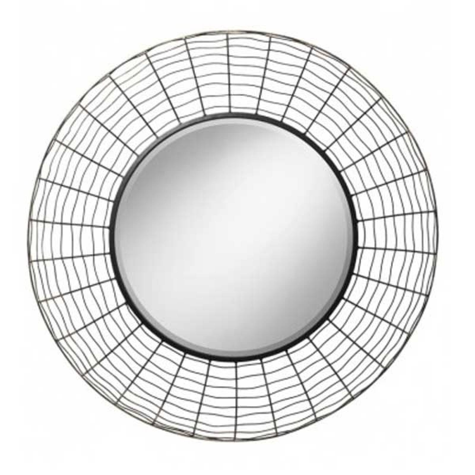 Spider Mirror Wire Grid 28""