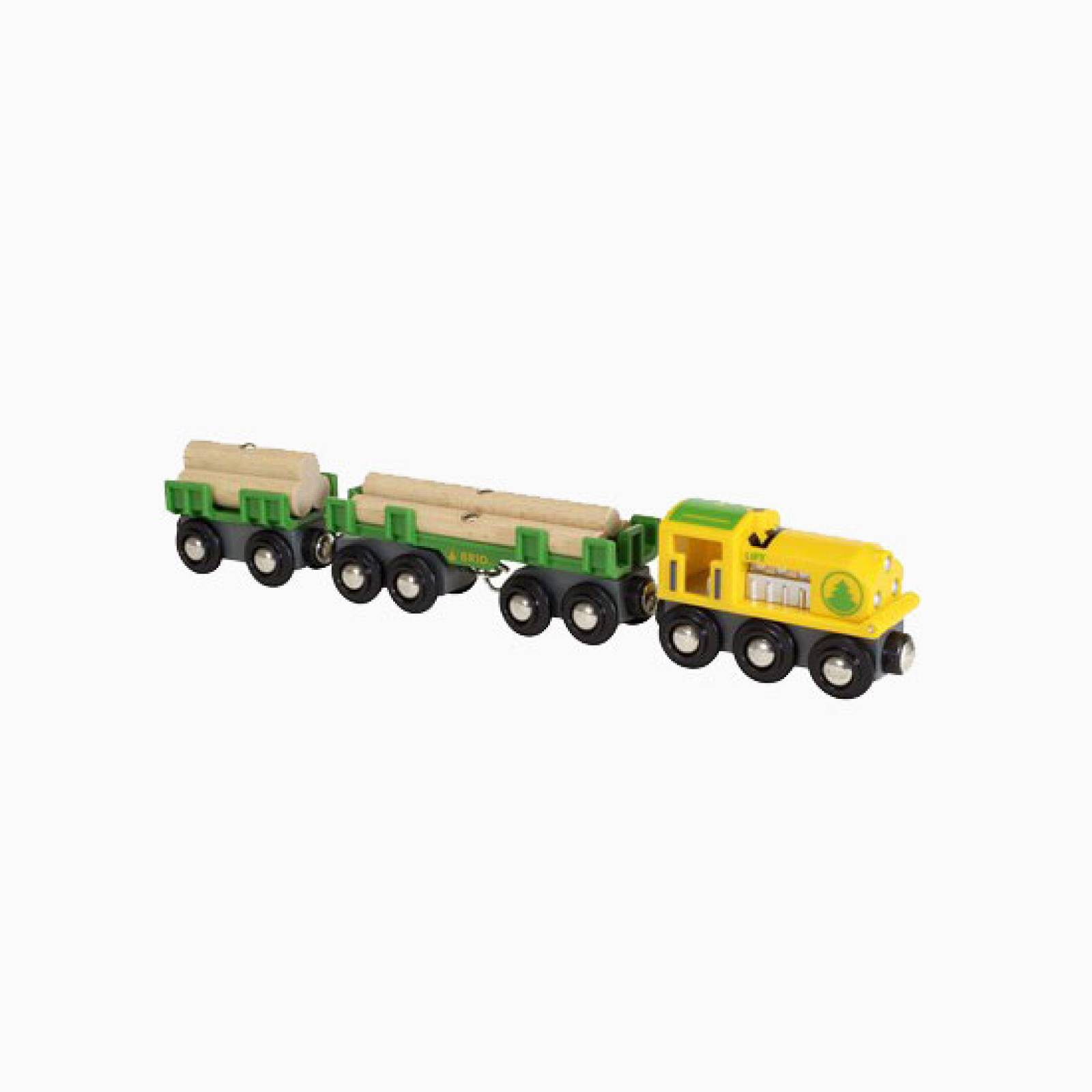 Lumber Train BRIO Wooden Railway Age 3+