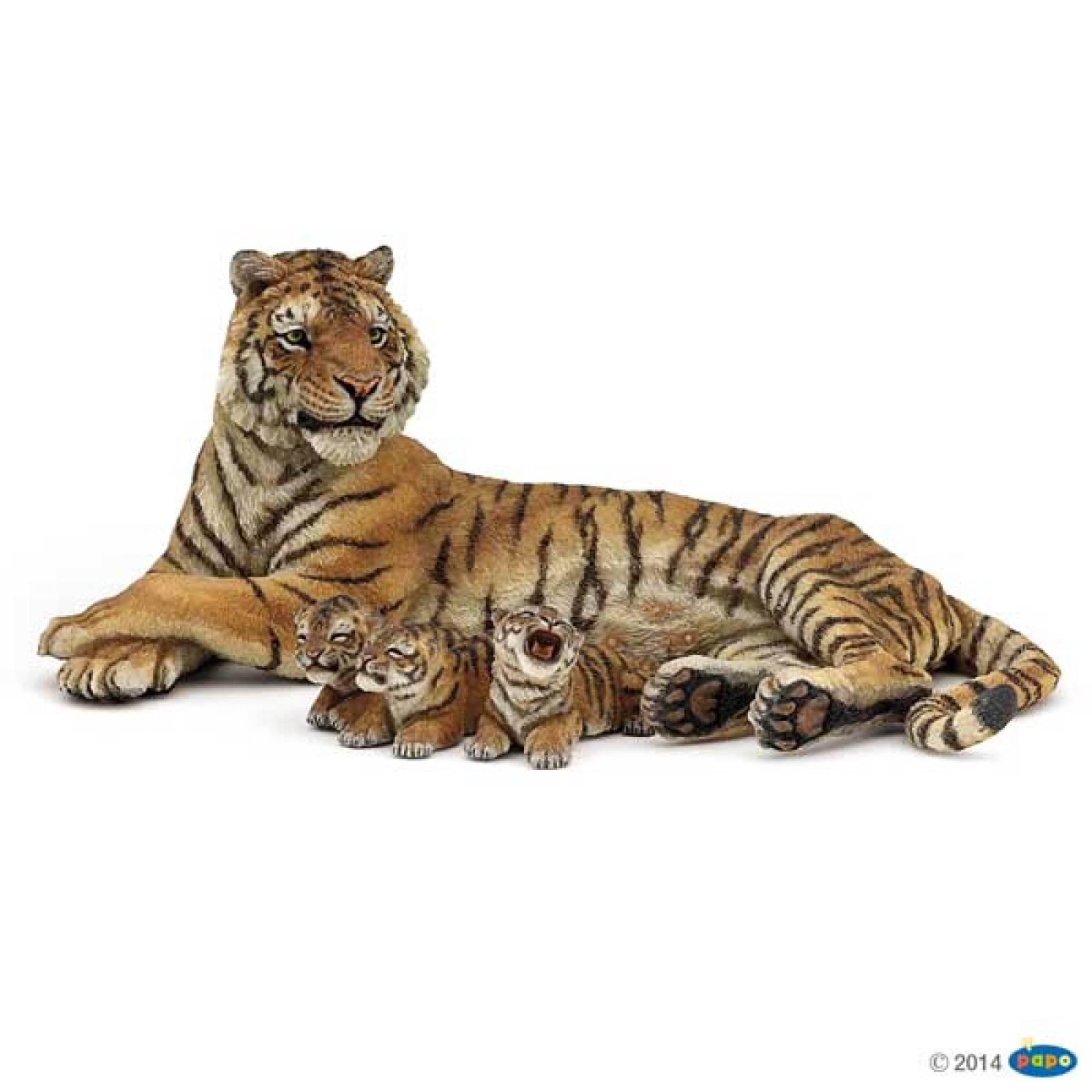 Tiger Family PAPO WILD ANIMAL thumbnails