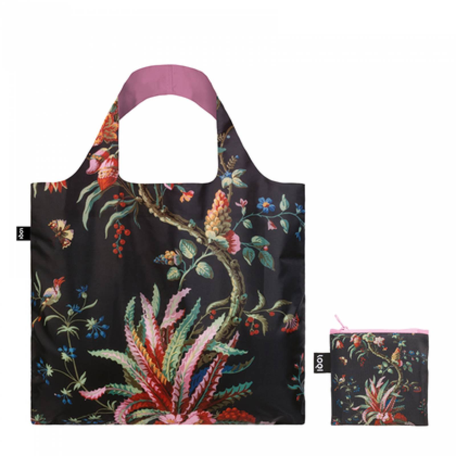 Arabesque - Reusable Tote Bag With Pouch thumbnails