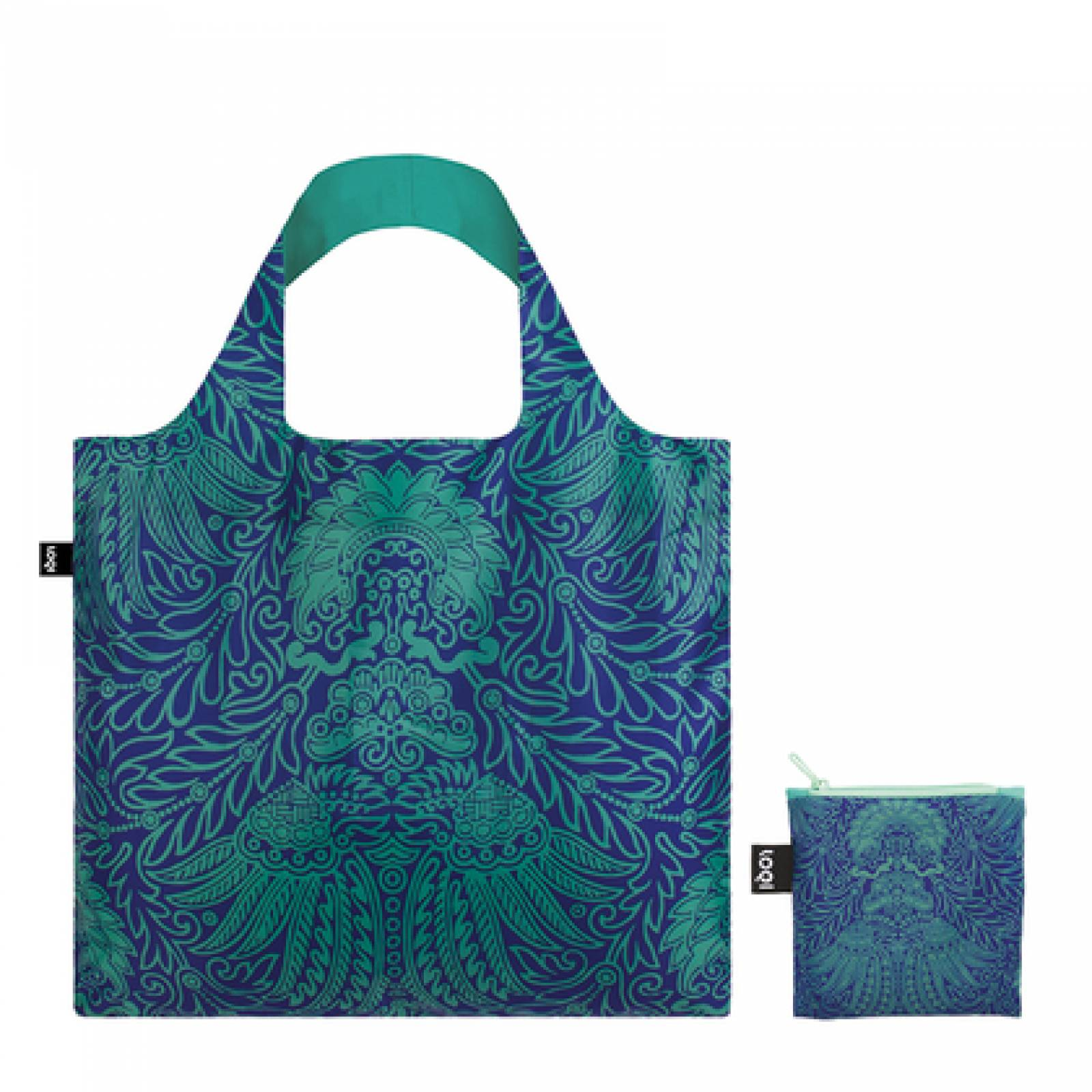 Japanese Decor - Reusable Tote Bag With Pouch thumbnails