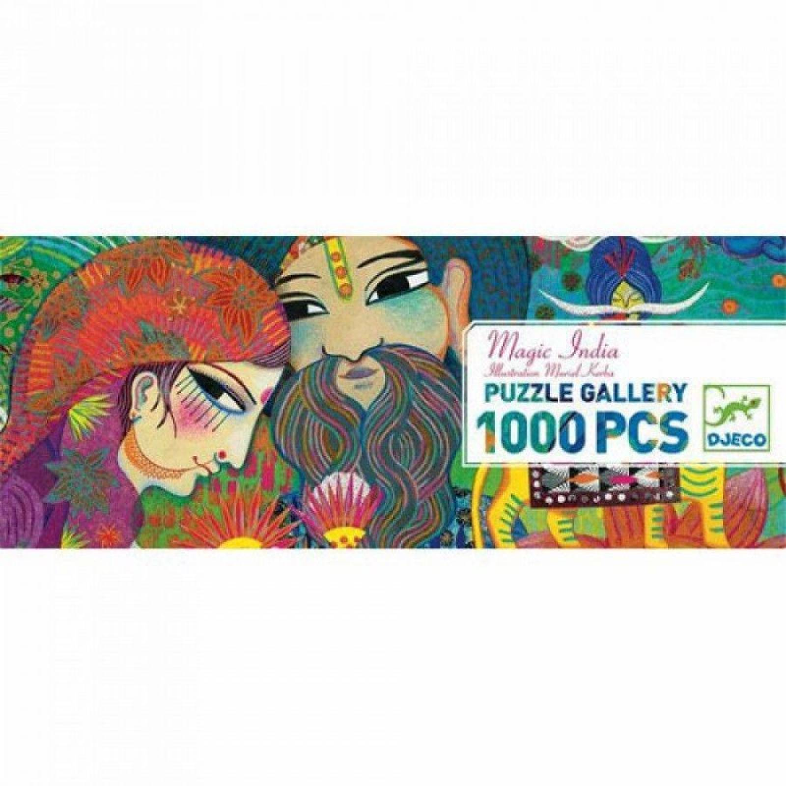 Magic India 1000 Piece Puzzle By Djeco 9+ thumbnails