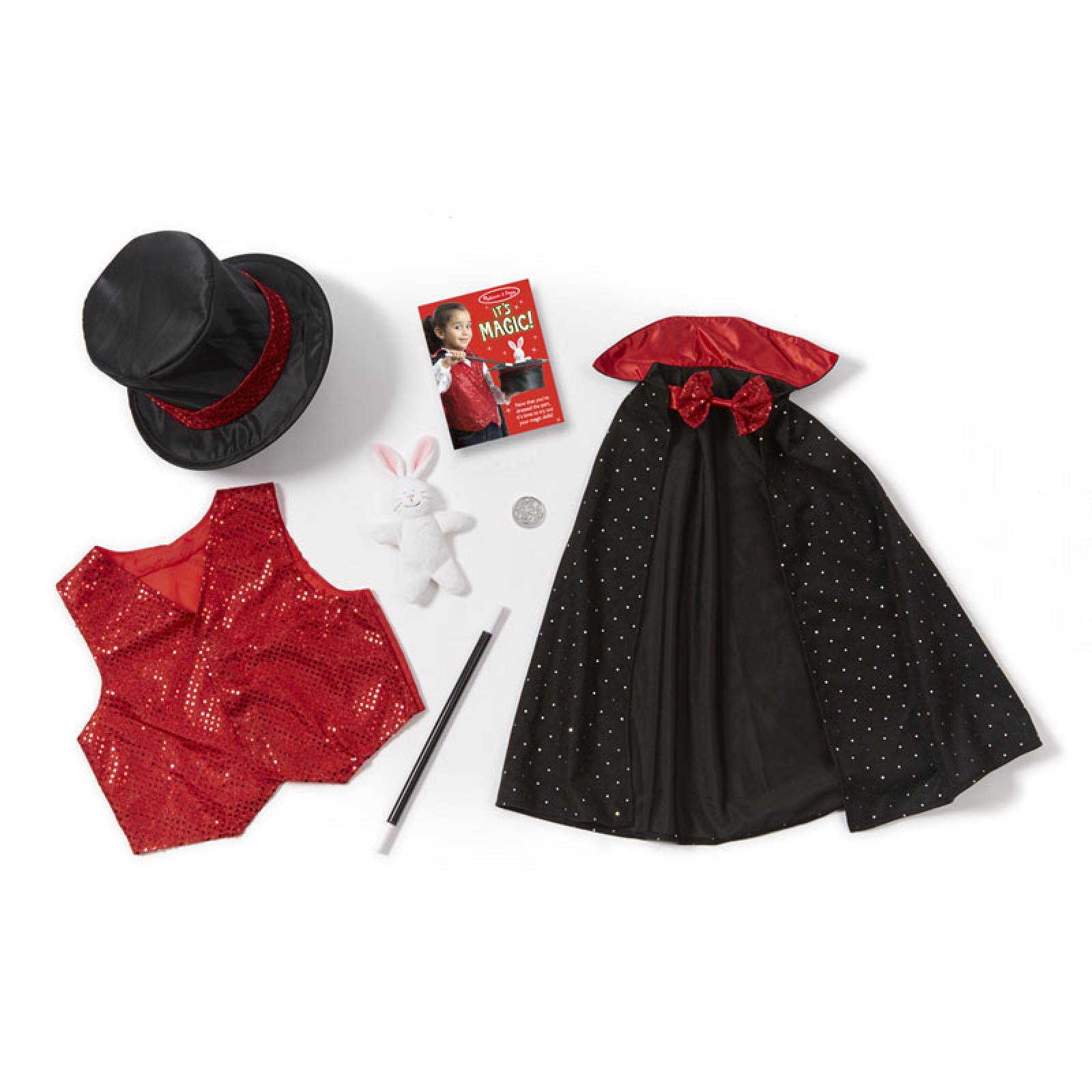 Magician Fancy Dress Role Play Costume Set thumbnails