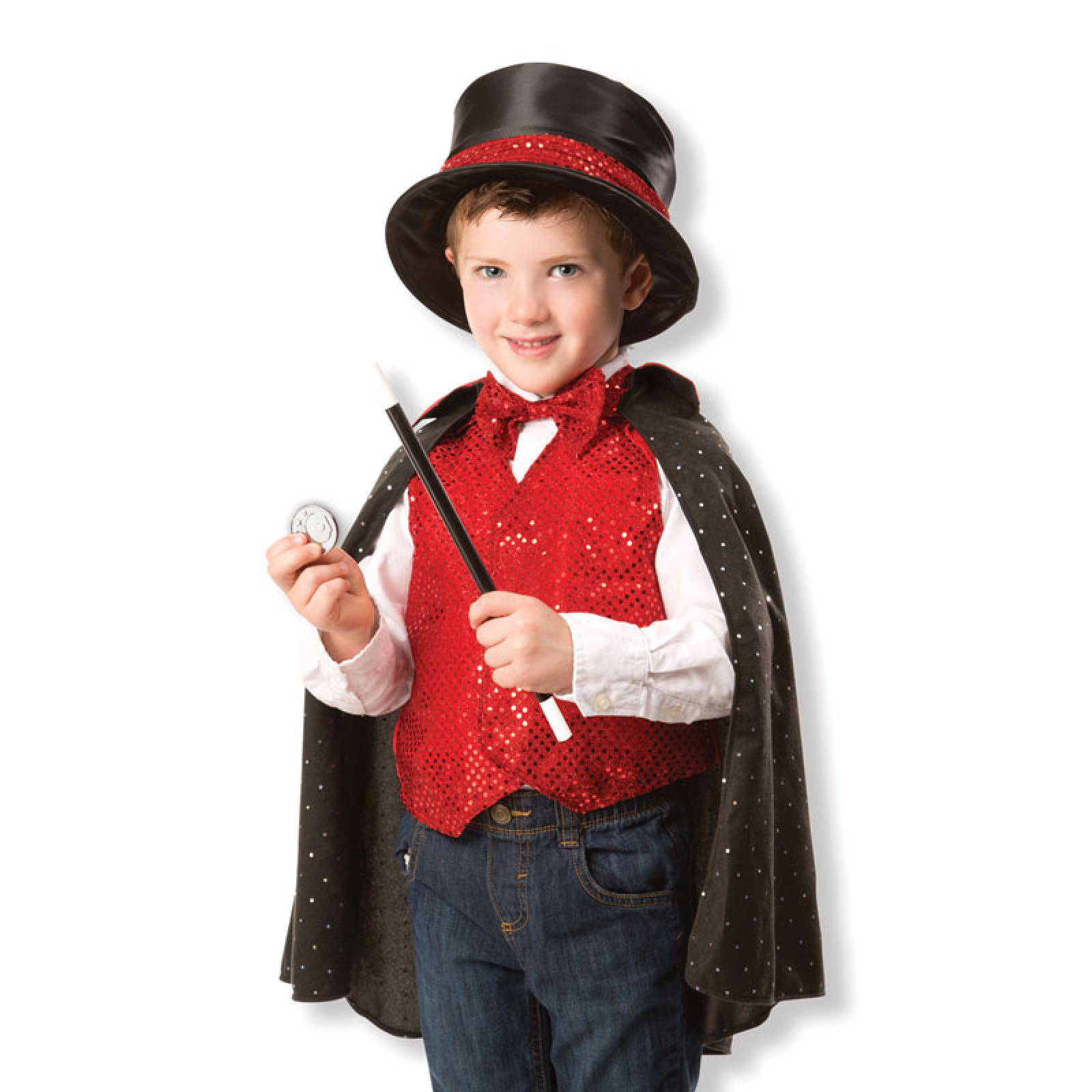 Magician Fancy Dress Role Play Costume Set