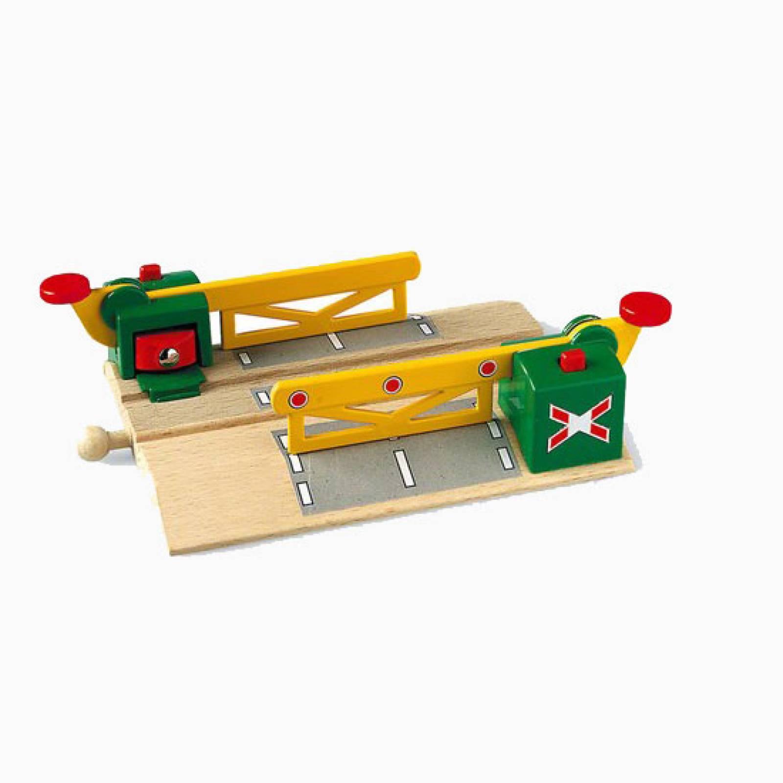 Magnetic Action Crossing BRIO Wooden Railway Age 3+