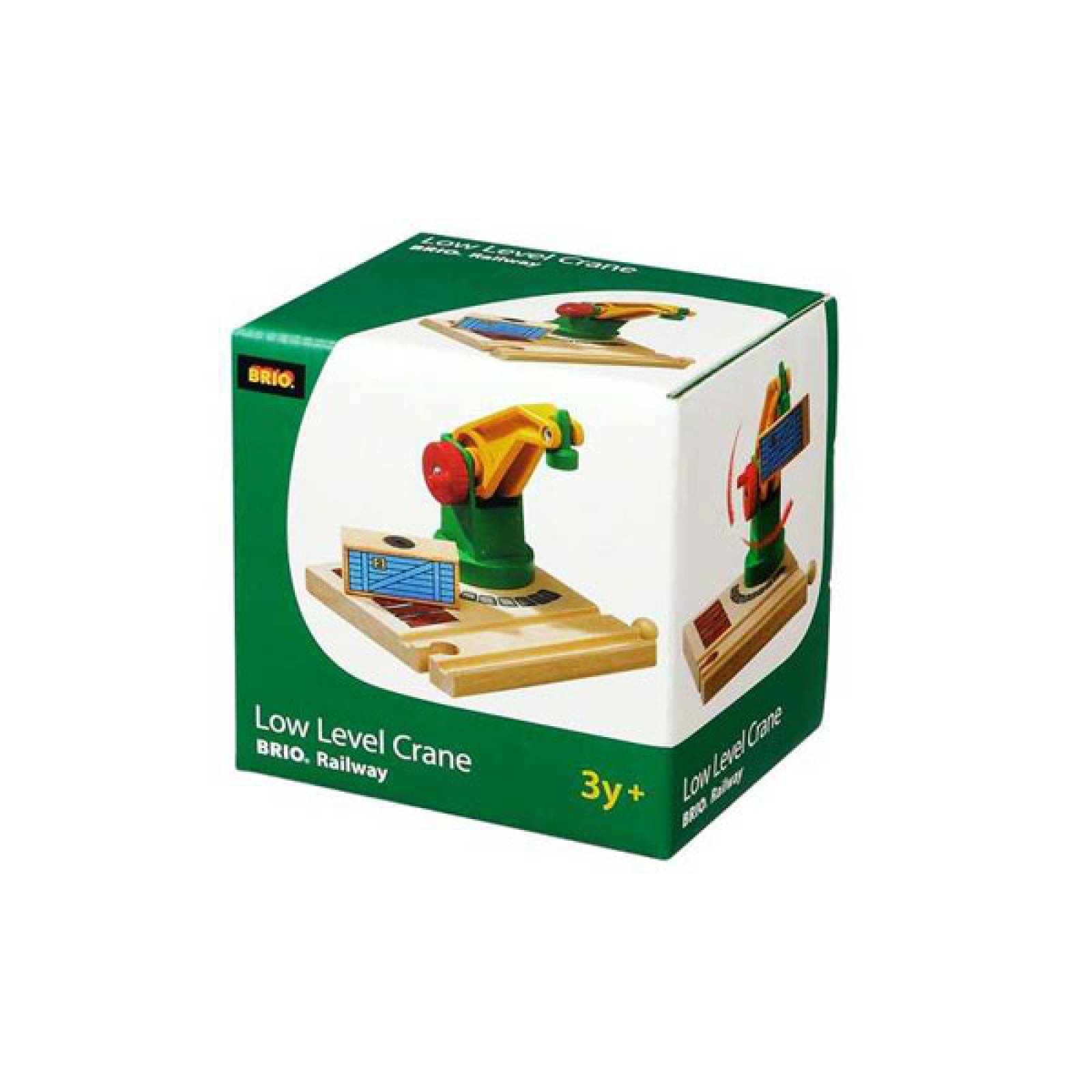 Low Level Crane  BRIO Wooden Railway Age 3+ thumbnails
