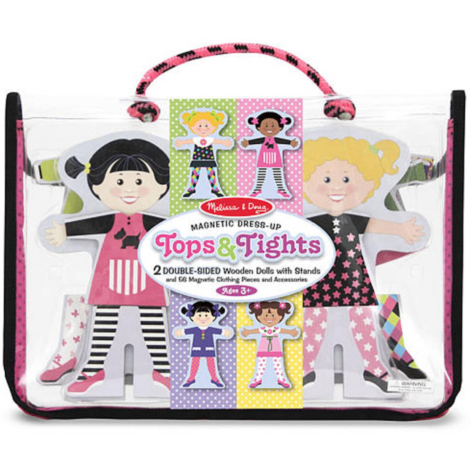 Tops And Tights Magnetic Dress Up By Melissa + Doug