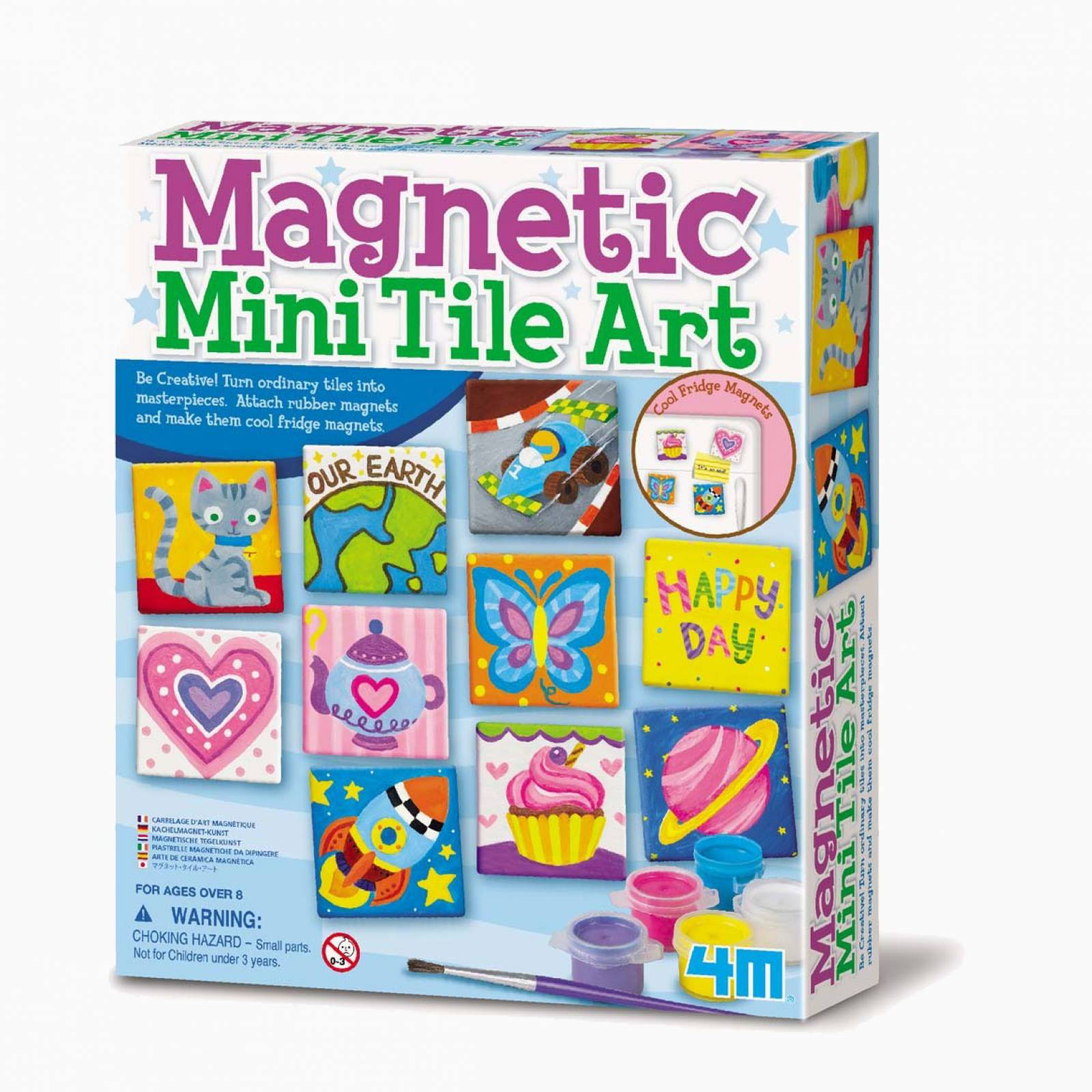 Magnetic Mini Tile Art - Art Kit 8+