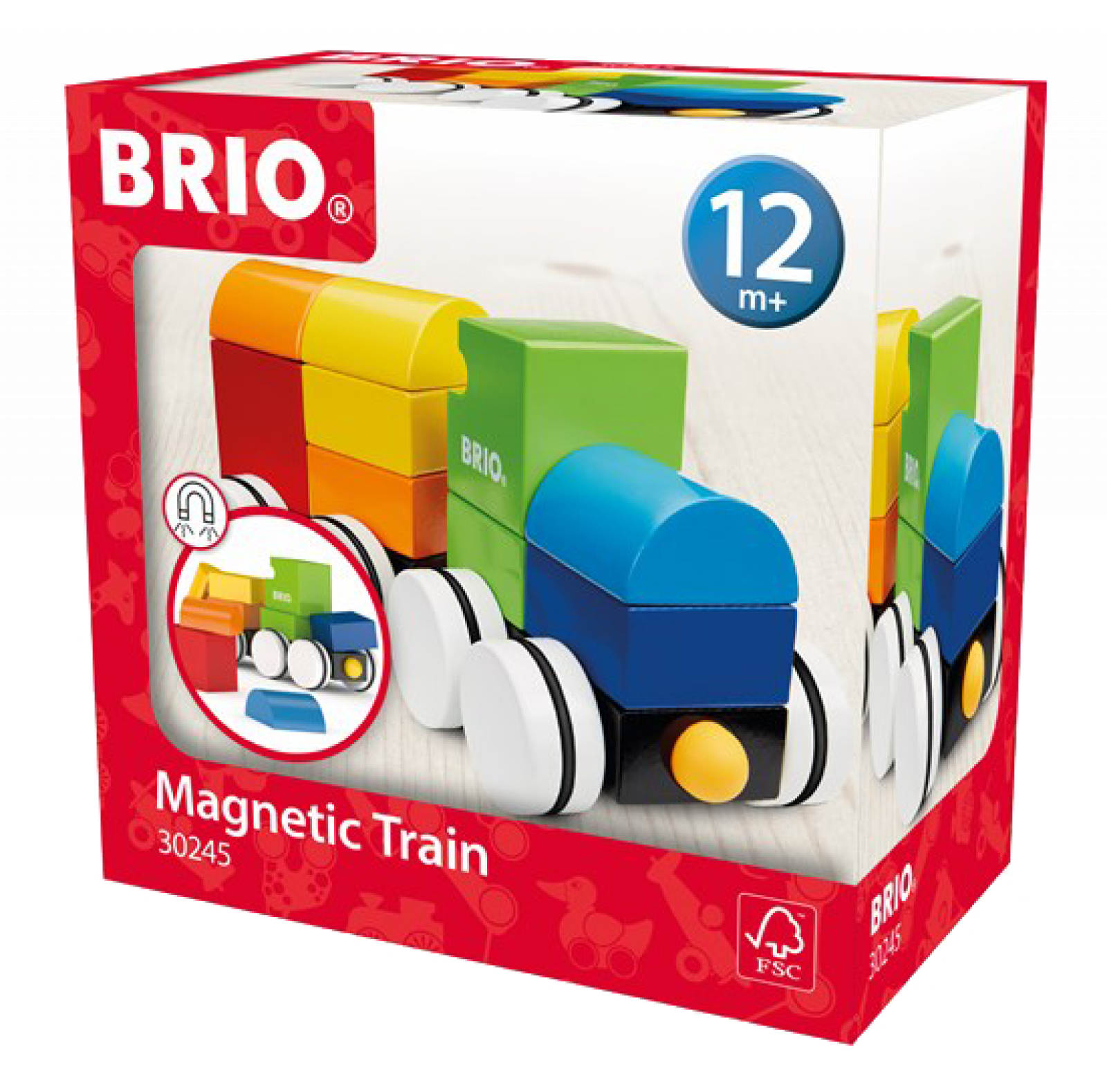 Magnetic Train Toy By BRIO 1+ thumbnails