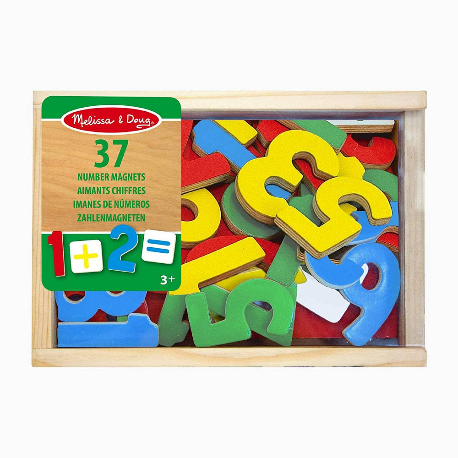 Magnetic Wooden Numbers By Melissa + Doug 3+