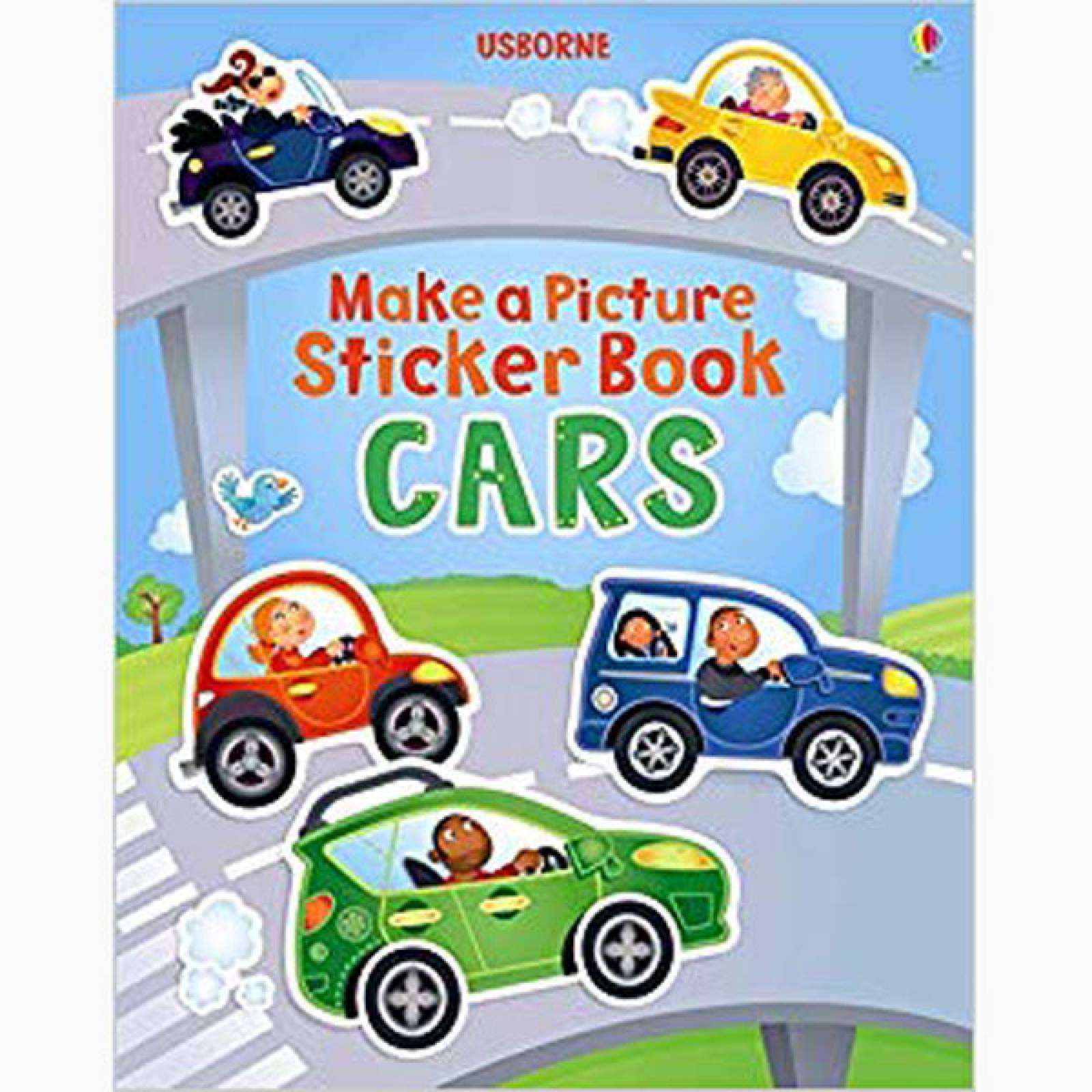 Make A Picture Sticker Book: Cars - Paperback Book