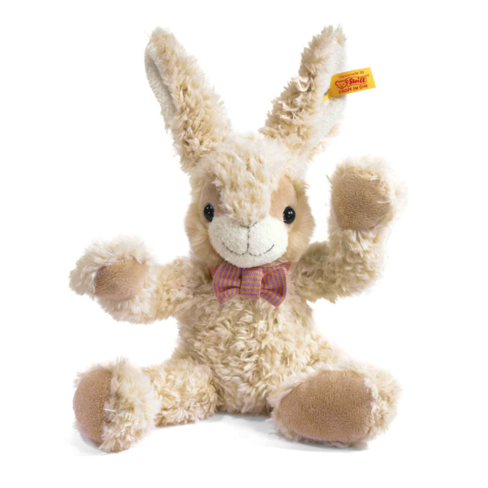 Manni Soft Toy Brown Rabbit 15cm By Steiff thumbnails