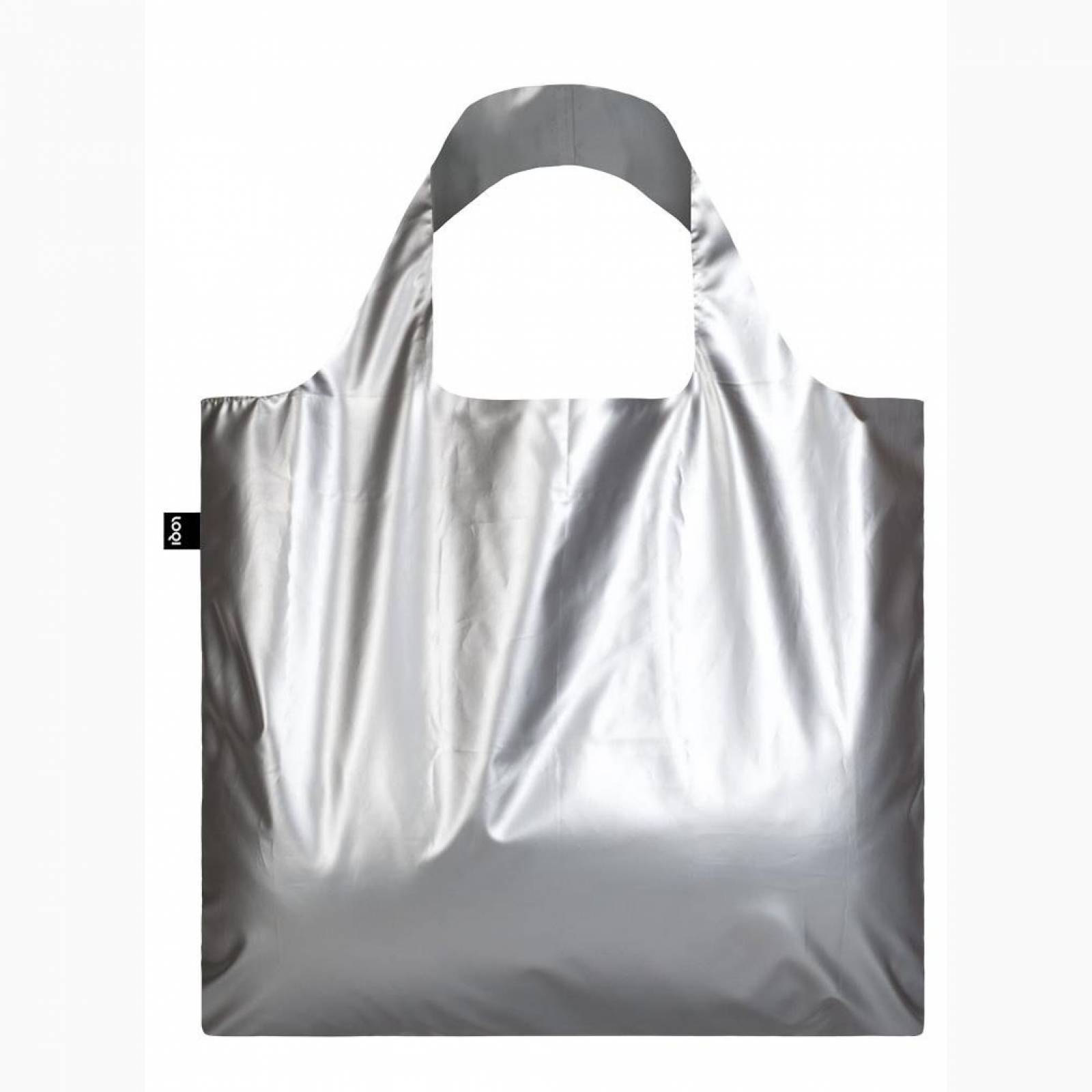 Matt Silver - Reusable Tote Bag With Pouch