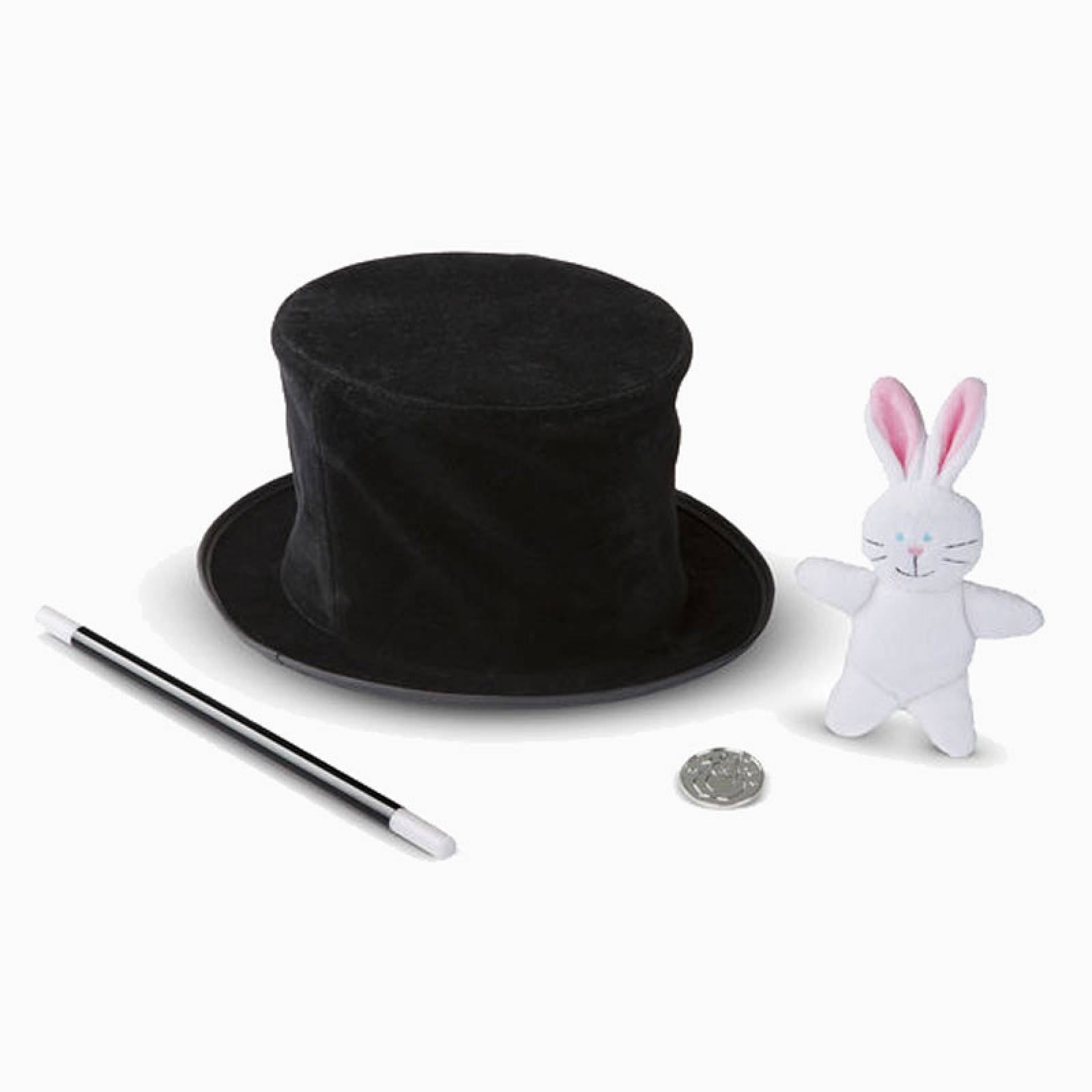 Magic in a Snap - Magician's Pop-Up Magical Hat with Tricks 4+