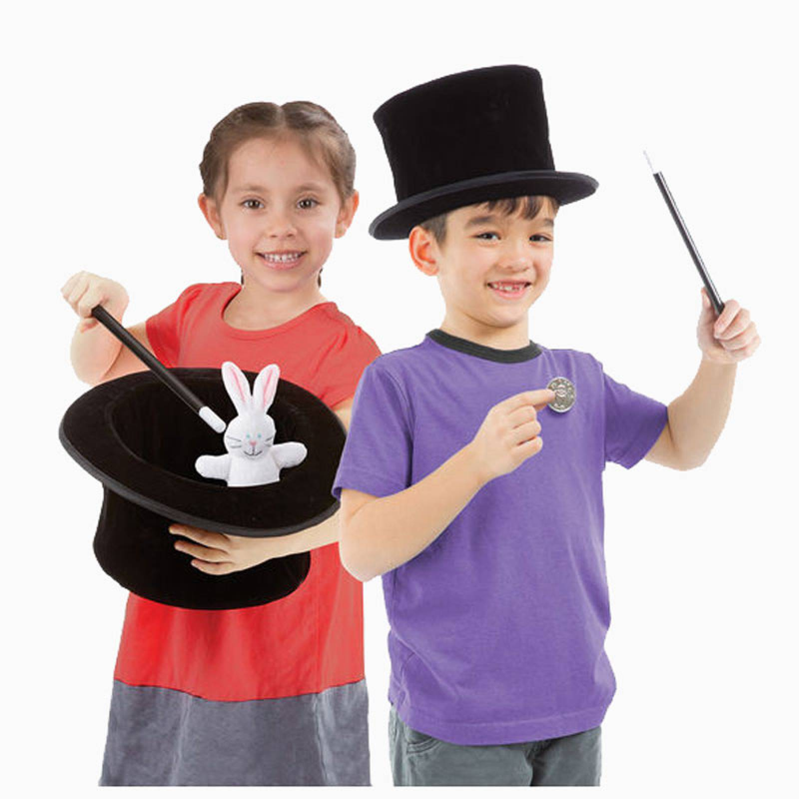 Magic in a Snap - Magician's Pop-Up Magical Hat with Tricks 4+ thumbnails