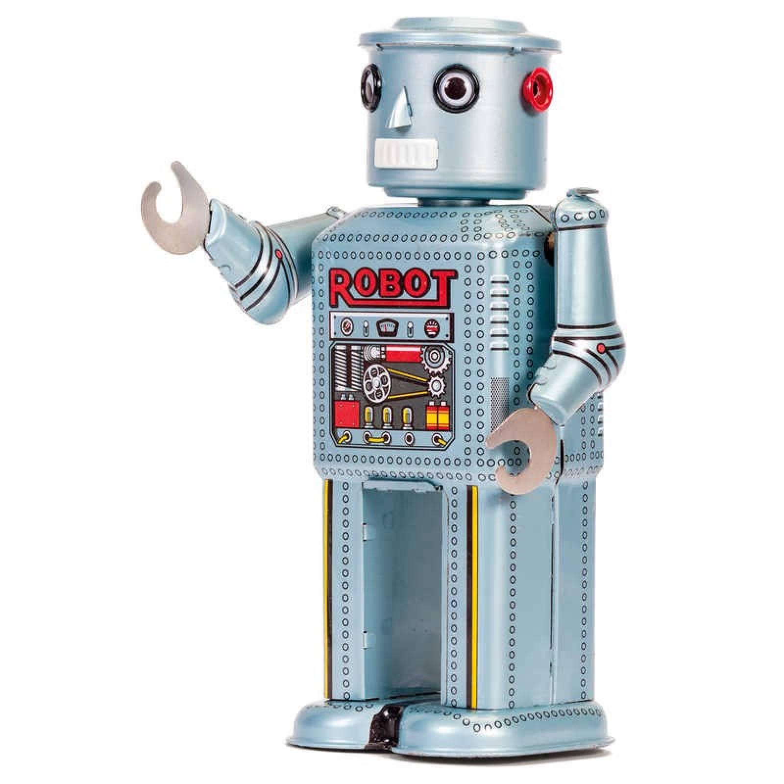 Mechanical Robot Tin Toy