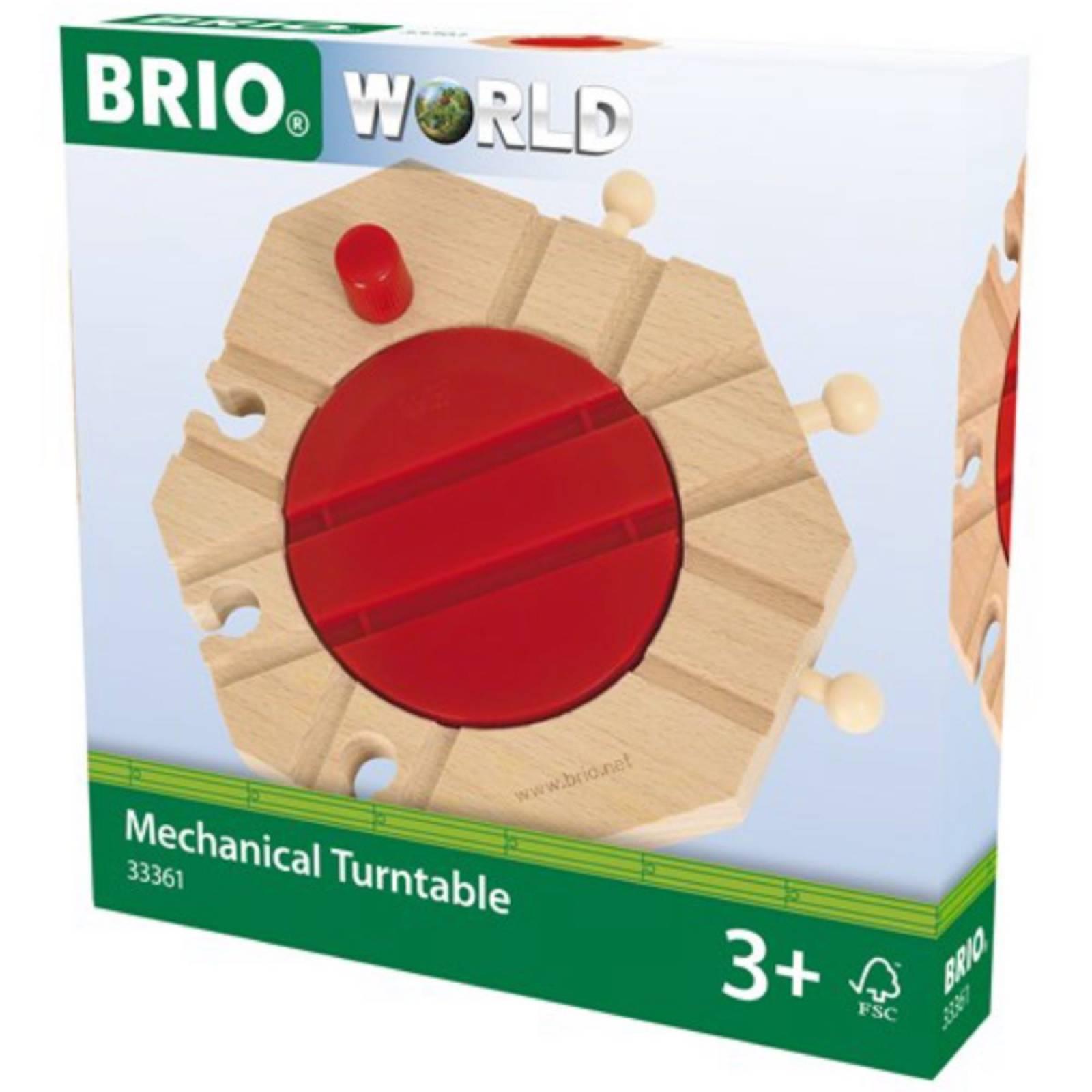 Mechanical Turntable BRIO Wooden Railway