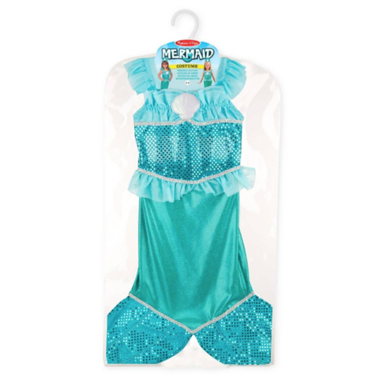 Fancy Dress Role Play Costume Set - Mermaid thumbnails