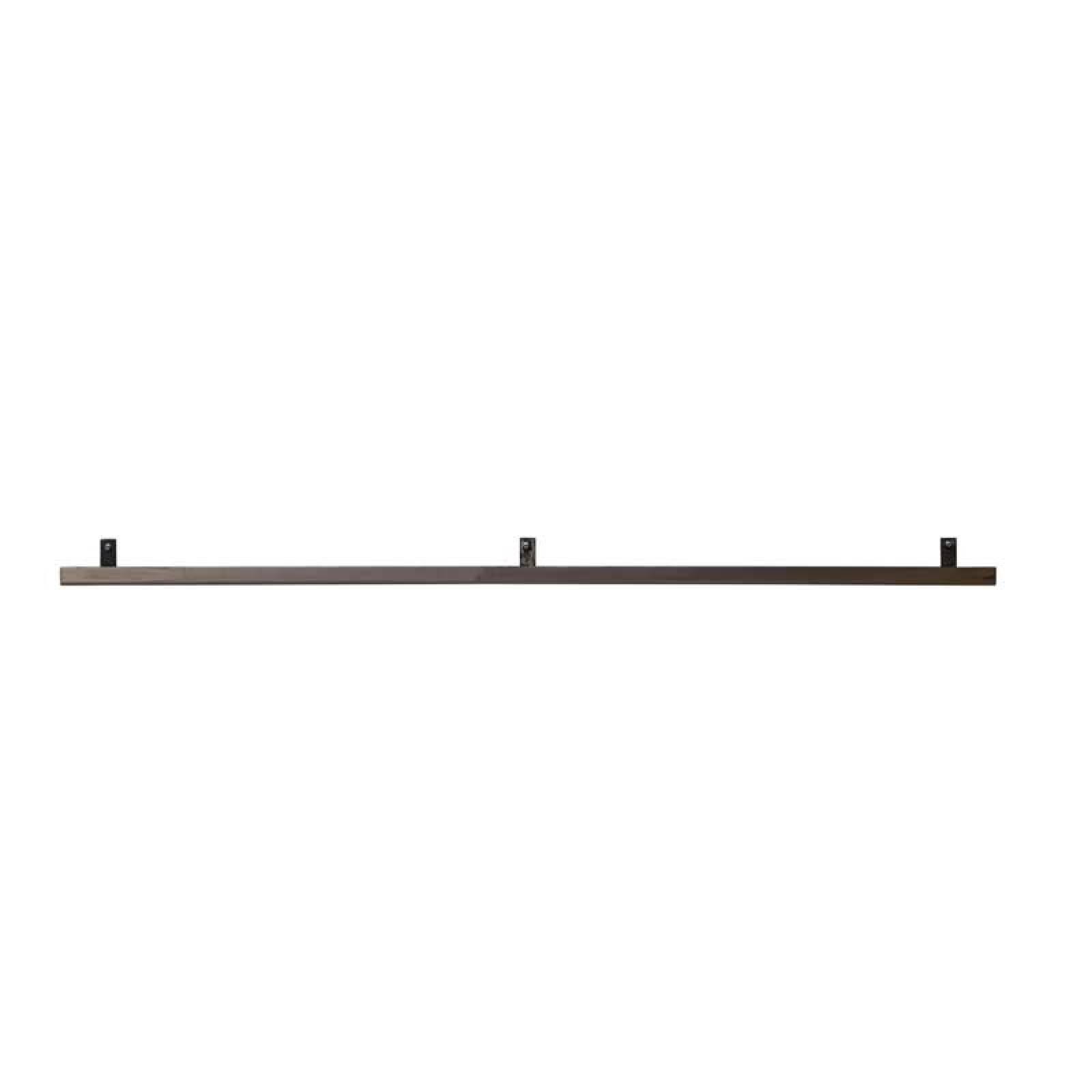 Long Metal Book Shelf Rail 120cm