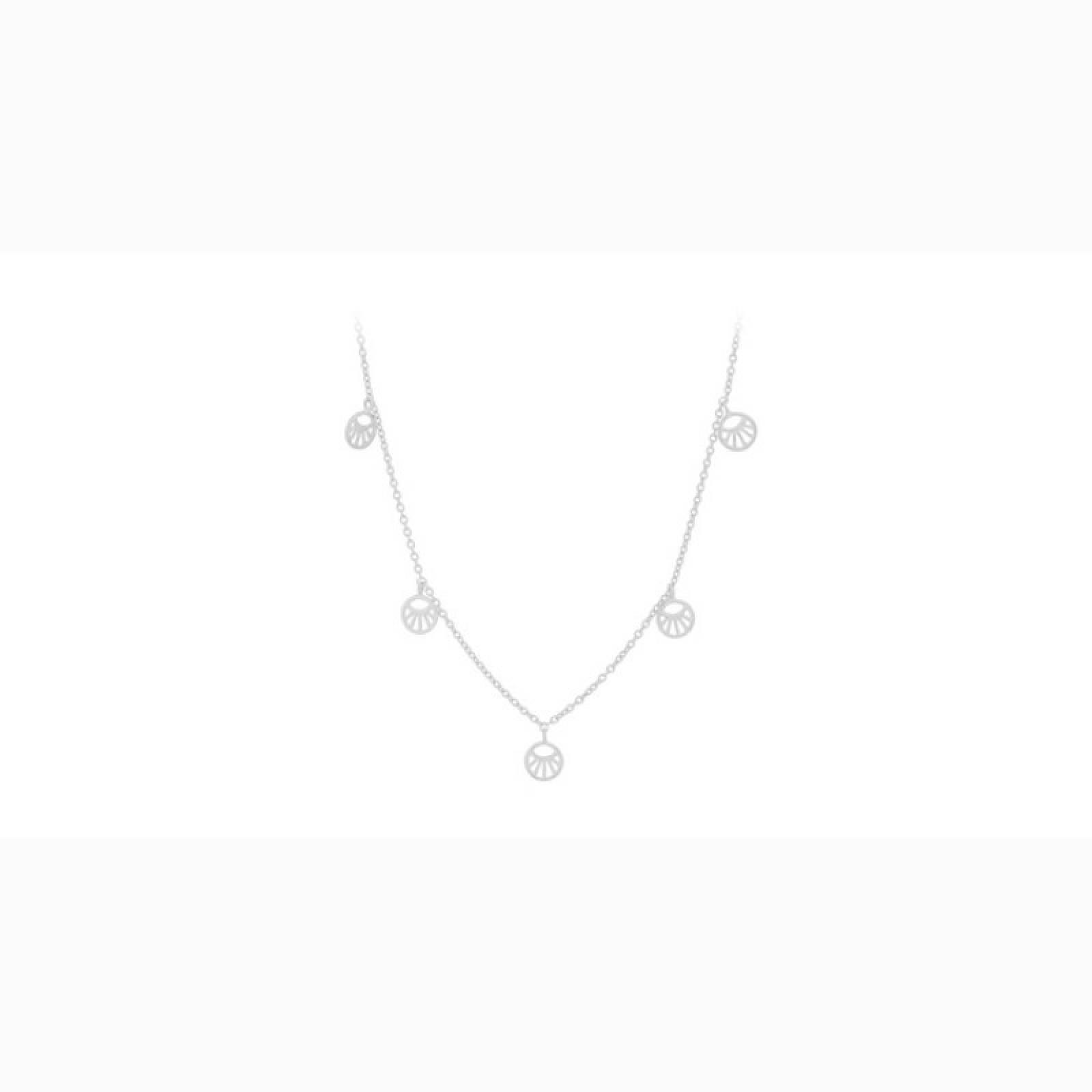 Mini Daylight Necklace In Silver By Pernille Corydon