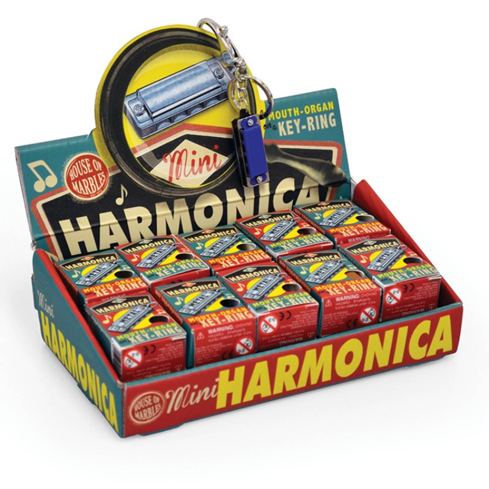 Mini Harmonica Keyring thumbnails