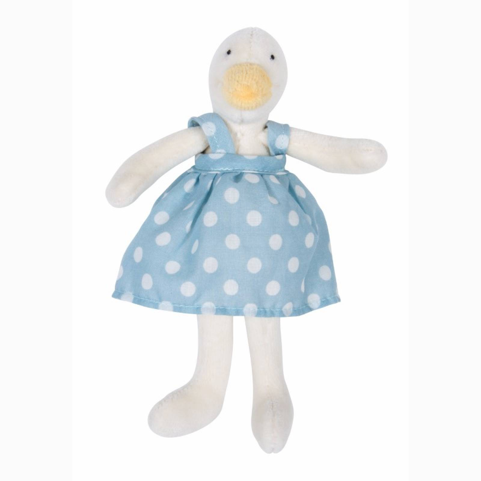 Mini Jeanne The Duck Soft Toy 0+