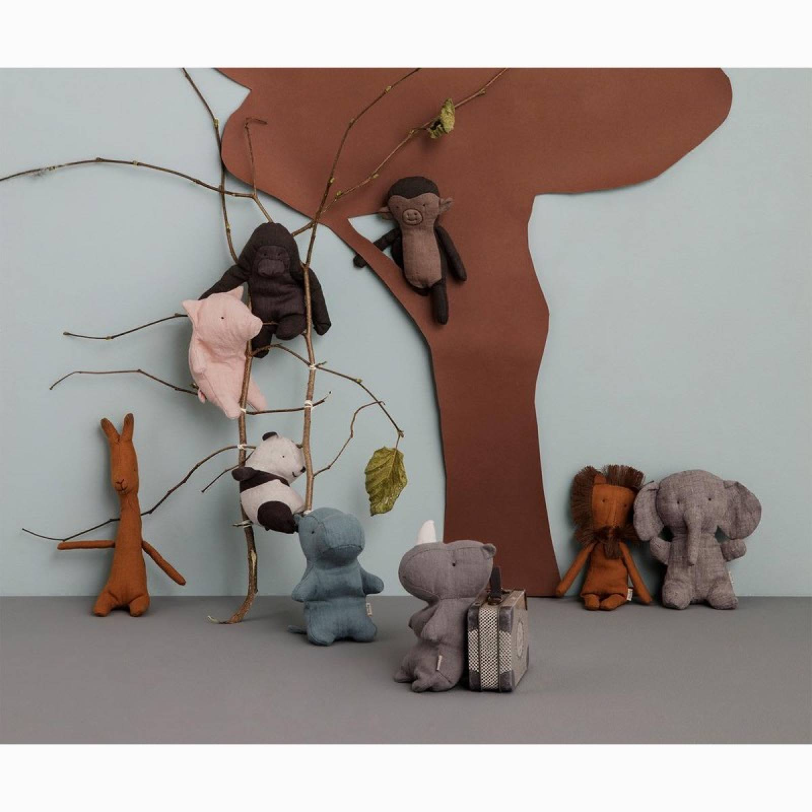 Mini Gorilla Soft Toy Noah's Friends By Maileg 0+ thumbnails