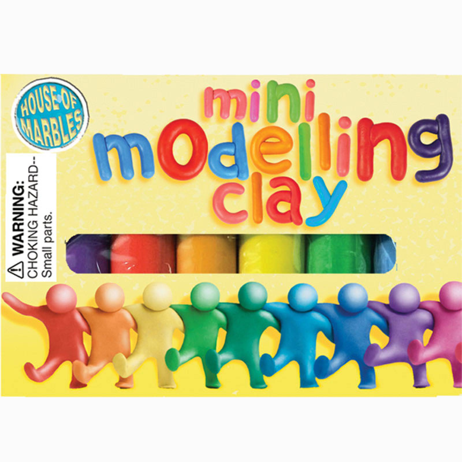 Pack Of Mini Modelling Clay