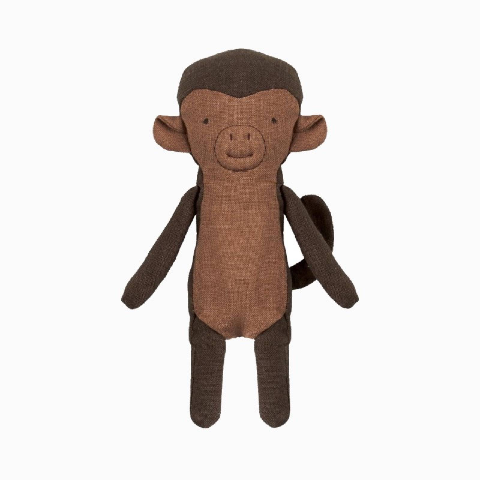 Mini Monkey Soft Toy Noah's Friends By Maileg 0+
