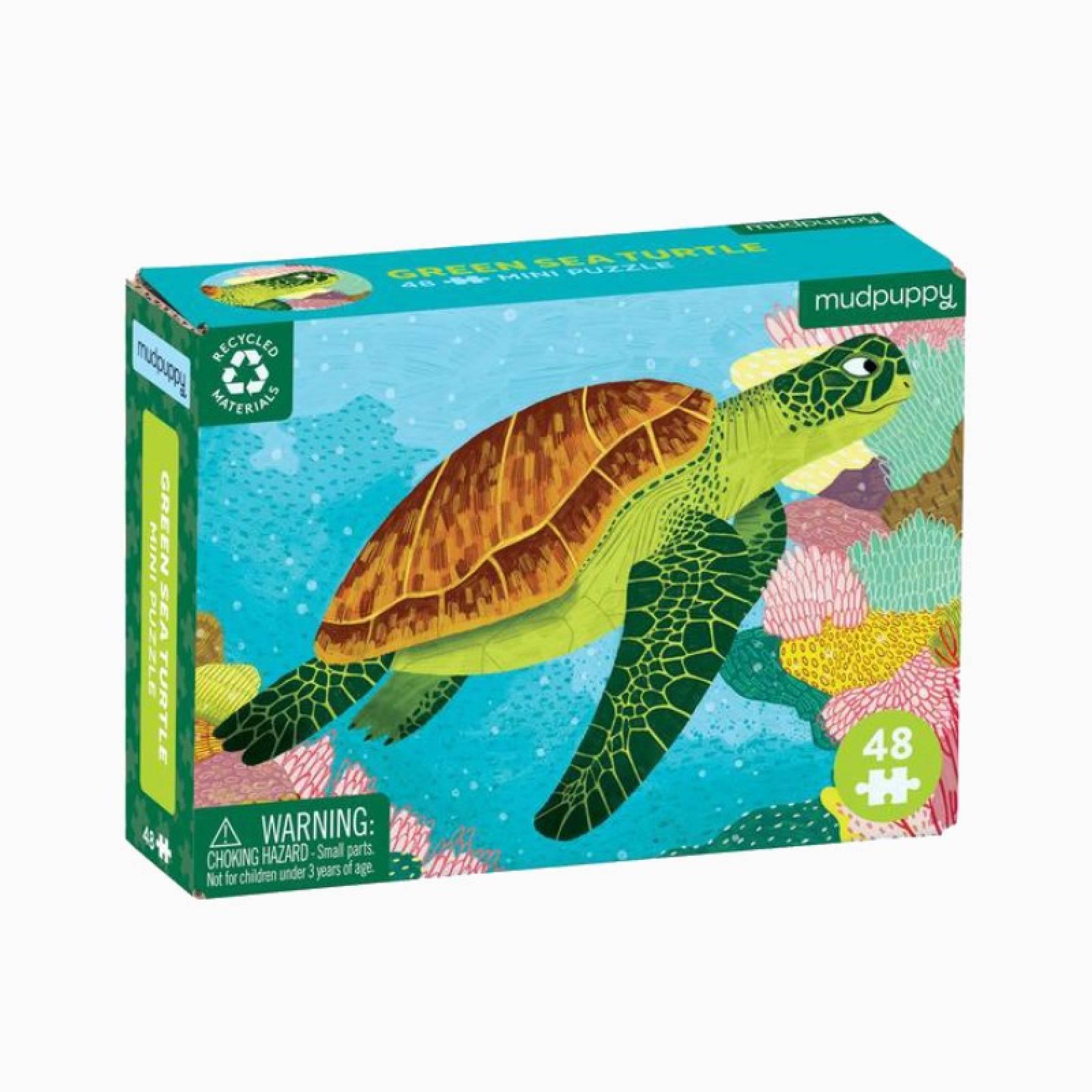 Mini Puzzle - Turtle 48pc 4+