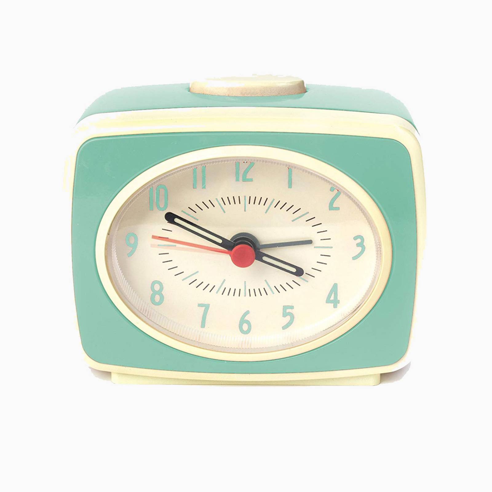 Mint Retro Alarm Clock
